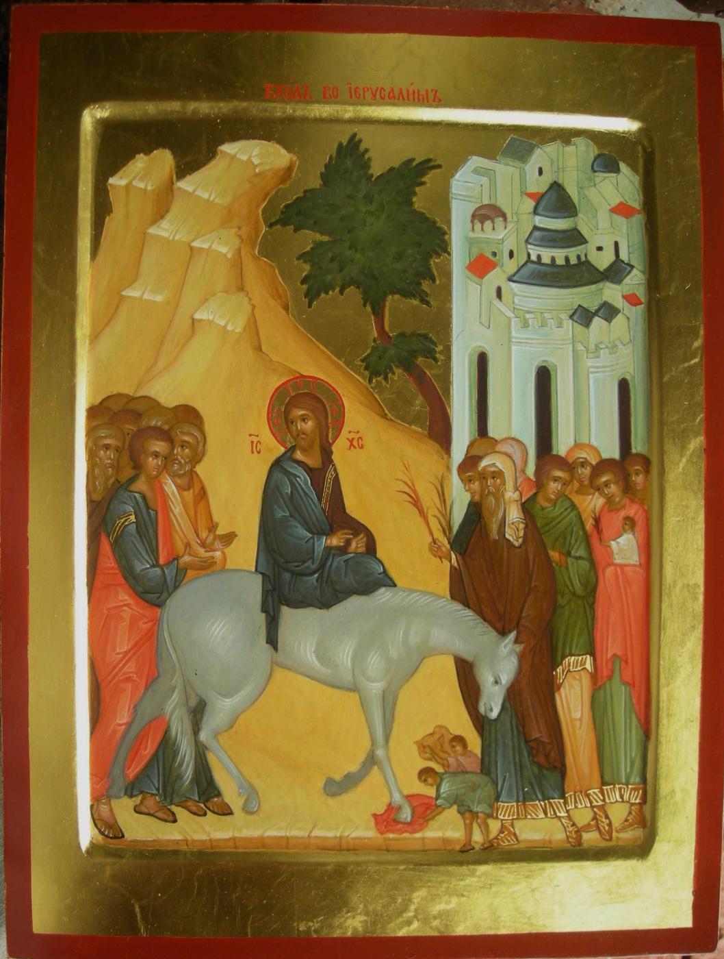 Gennady Viktorovich Babenko. The entrance of the Lord to Jerusalem.