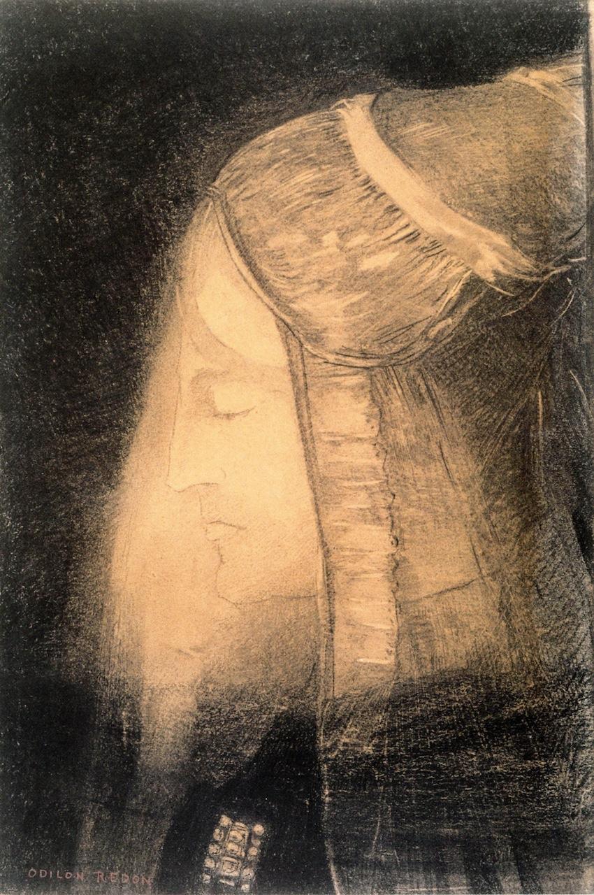 Odilon Redon. FAE (light Profile)
