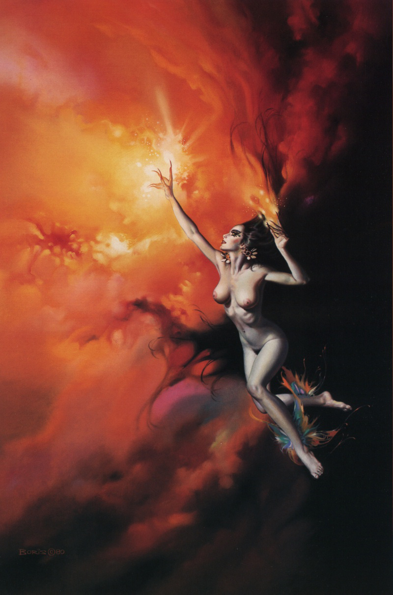 Boris Vallejo (Valeggio). Plot 51