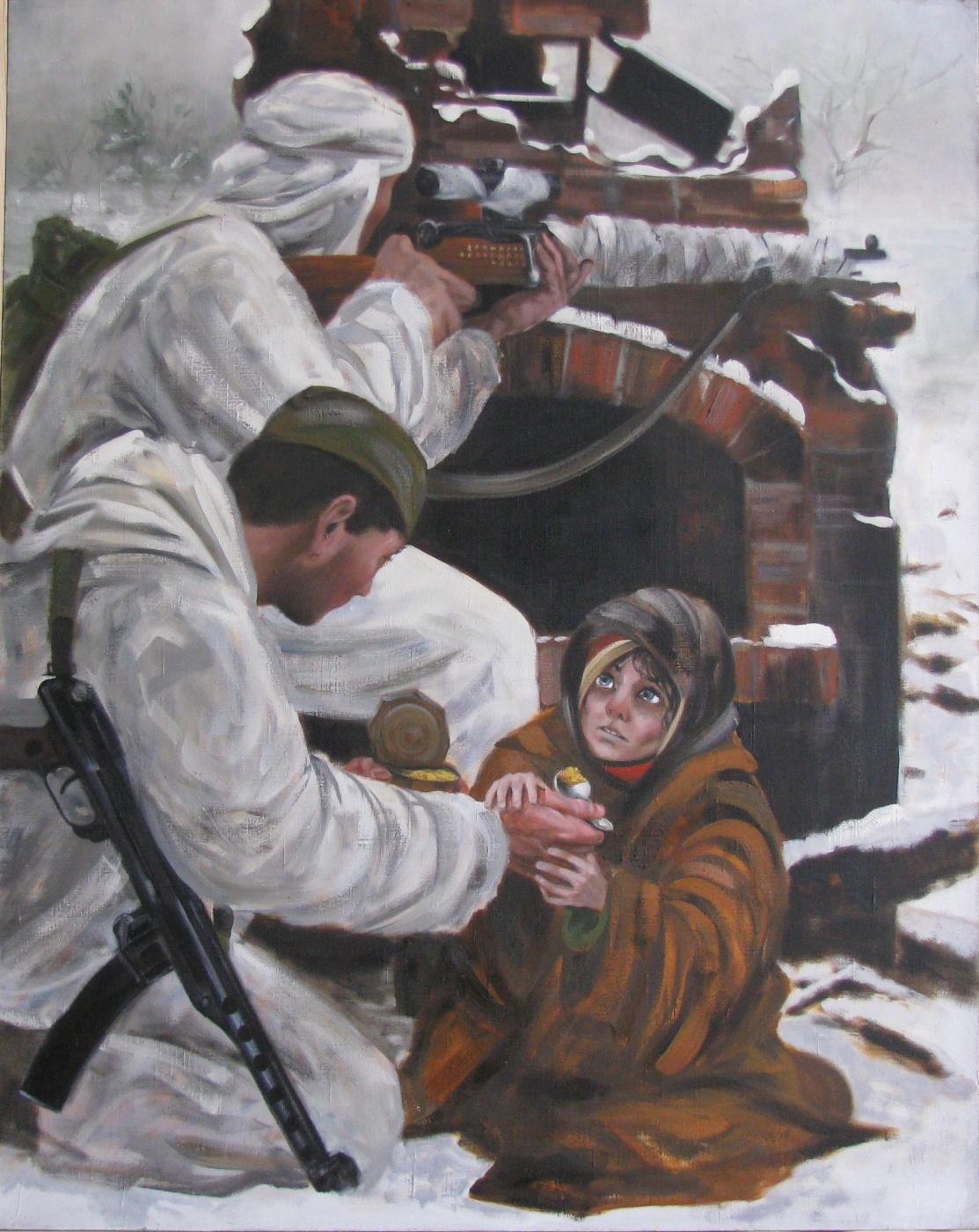 Alexander Leonidovich Osedovsky. Our. ... ... Frontline intelligence.