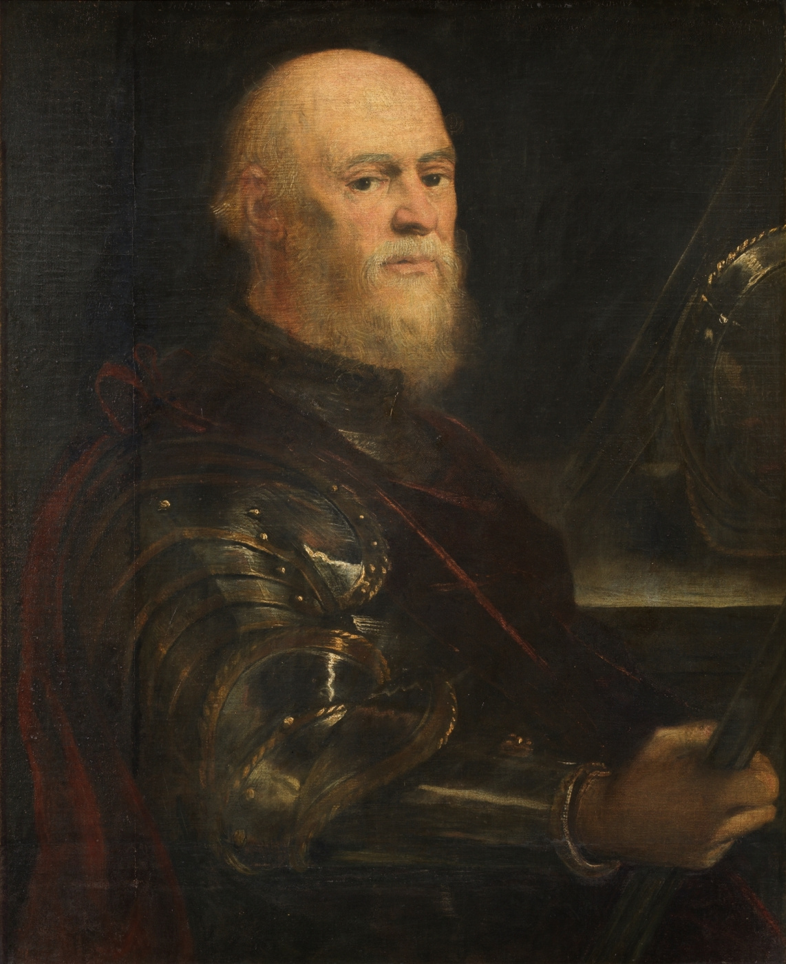 Jacopo (Robusti) Tintoretto. Portrait of the Venetian Admiral