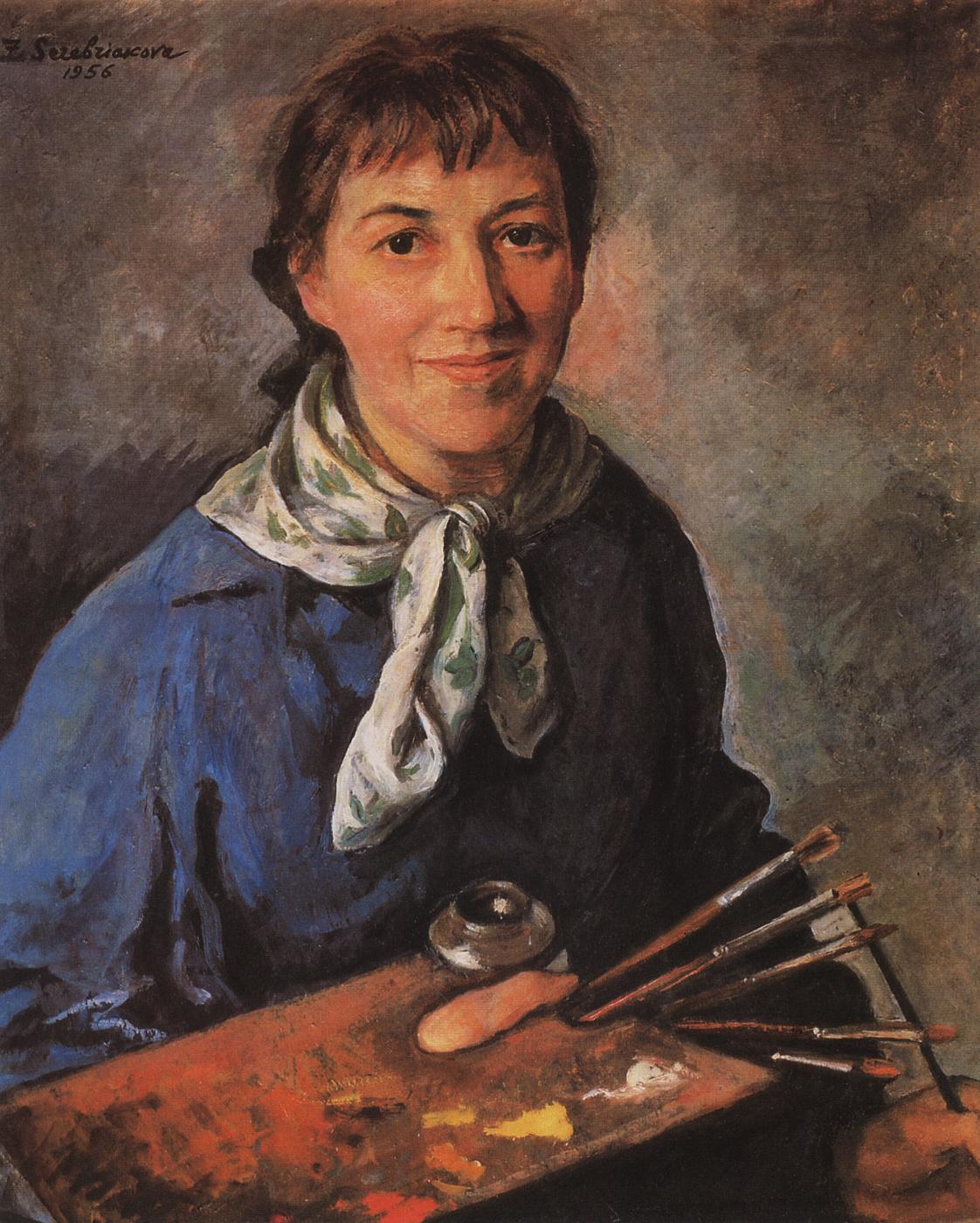 Zinaida Serebriakova. Self-portrait