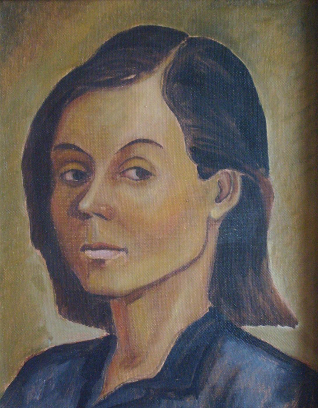 Yuri Petrovich Konnov. Larissa (study)