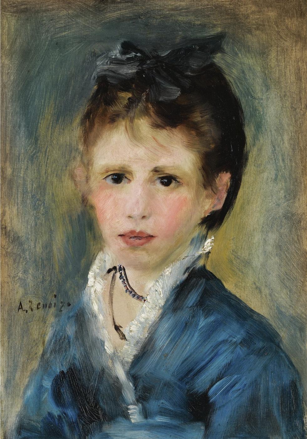 Pierre-Auguste Renoir. Mademoiselle Martha le Coeur