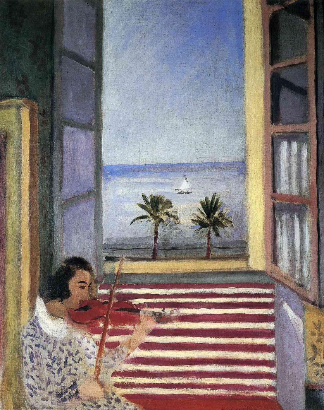 Henri Matisse. Violin