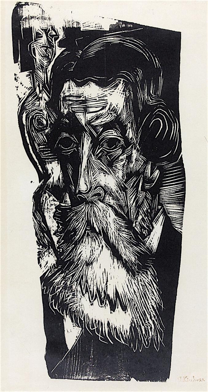Ernst Ludwig Kirchner. Portrait