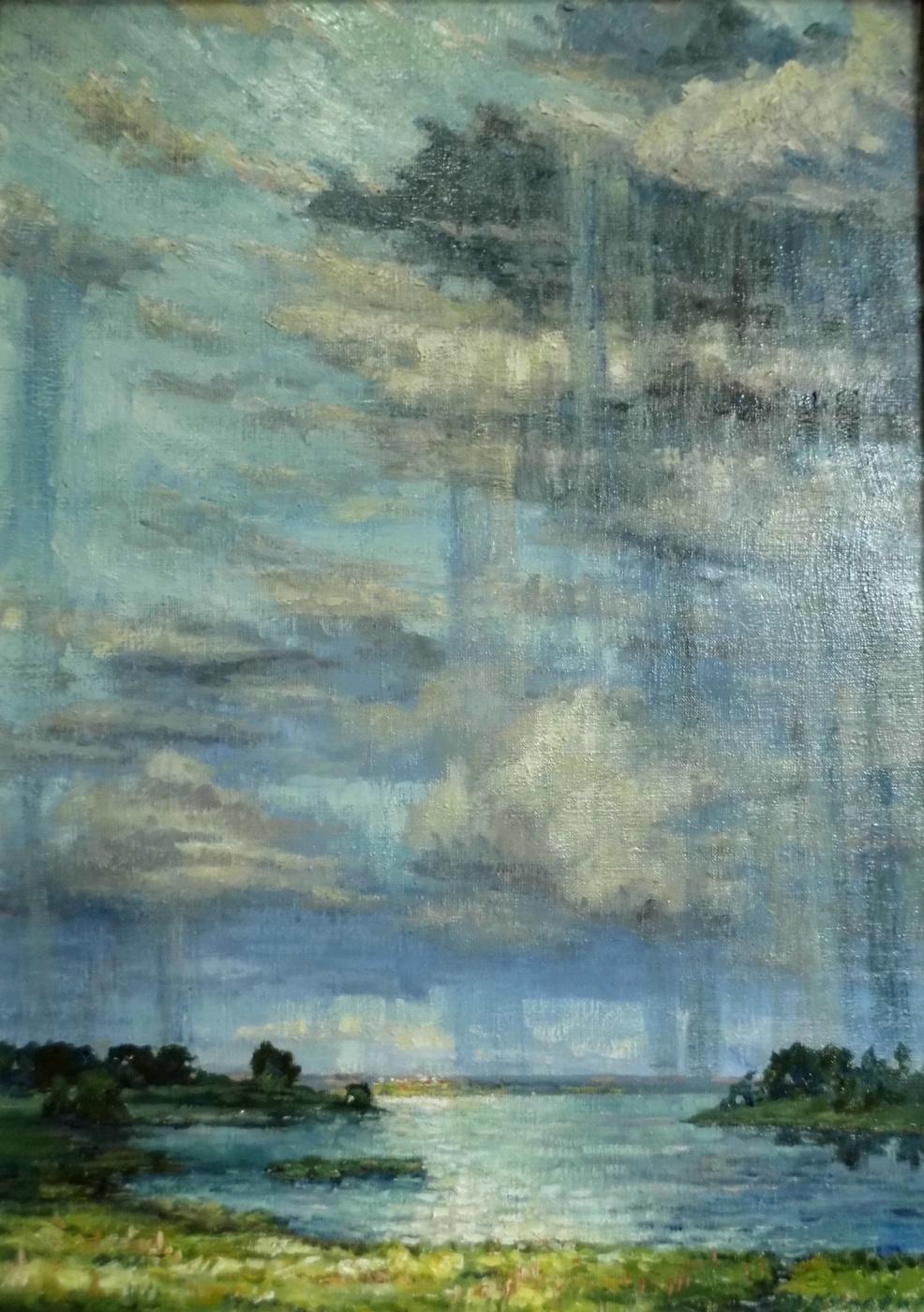 Victor Vladimirovich Kuryanov. The storm is going away
