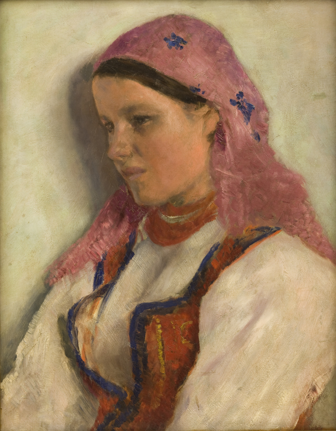 Alexander Gerymski. Girl from Bronovitsy