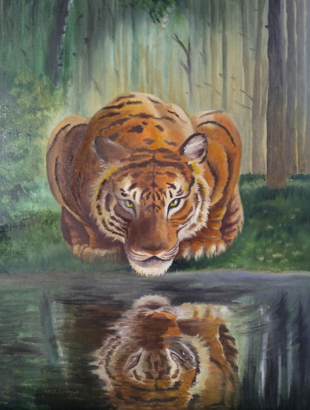 Olga Nadtochaeva. Tiger