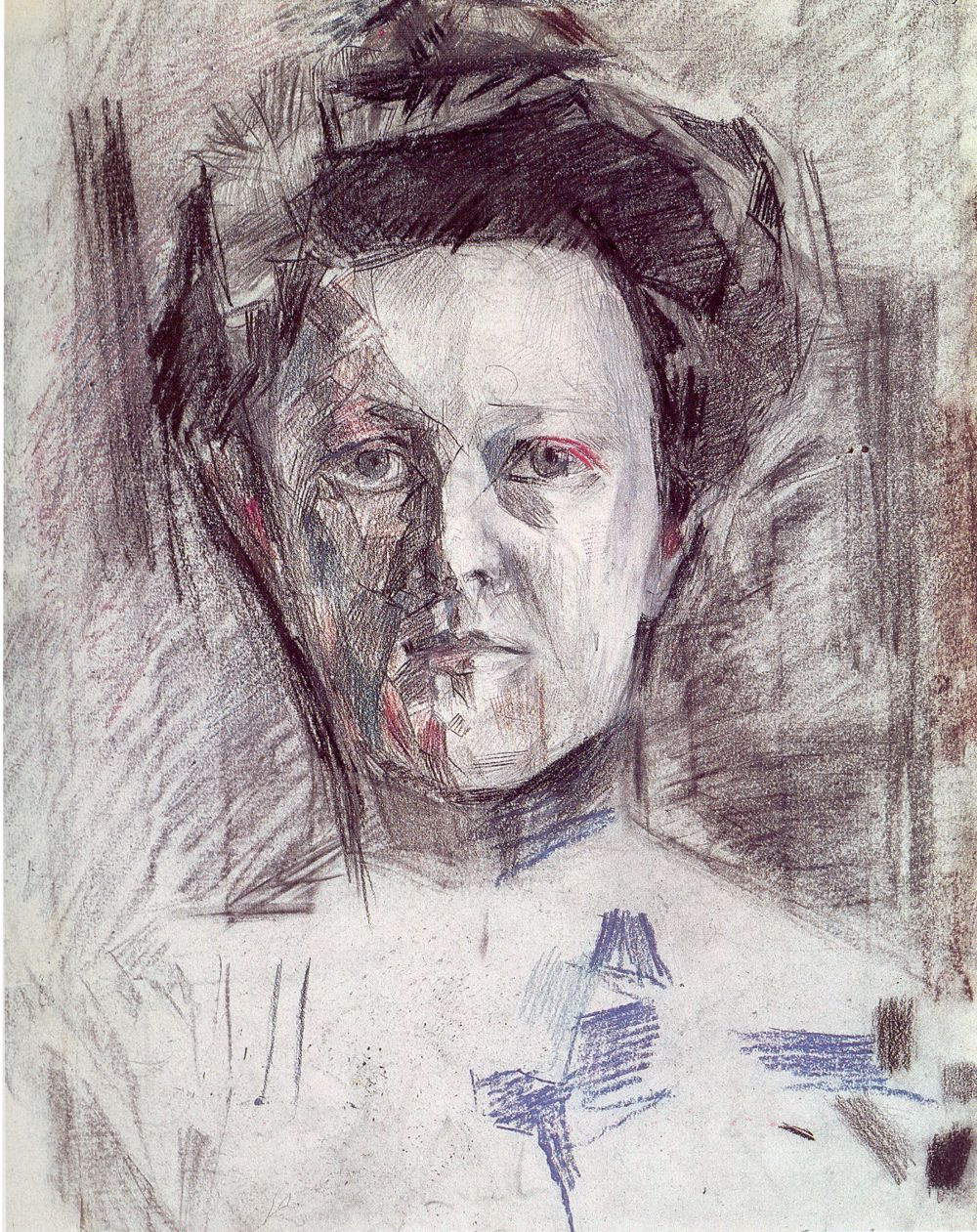 Mikhail Vrubel. Portrait Of Vera Alexandrovna Usoltsev