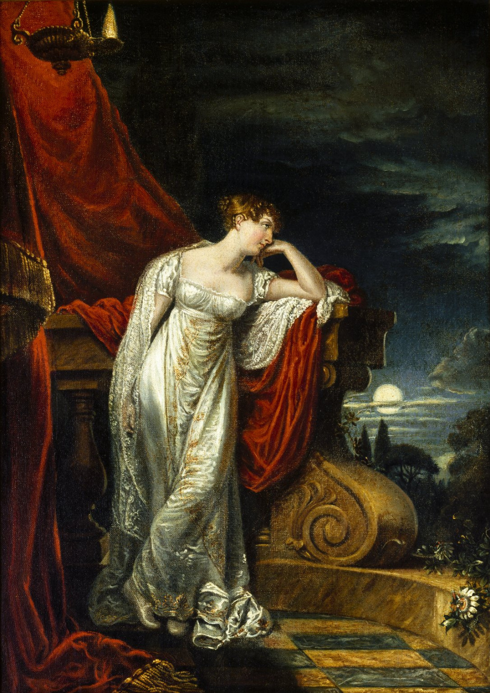 George Dow. Portrait of Miss O'Neill as Juliet