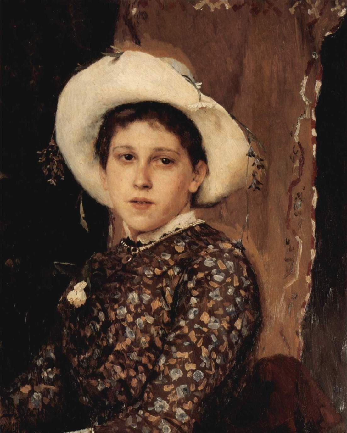 Viktor Vasnetsov. Portrait Of Tatyana Mamontova