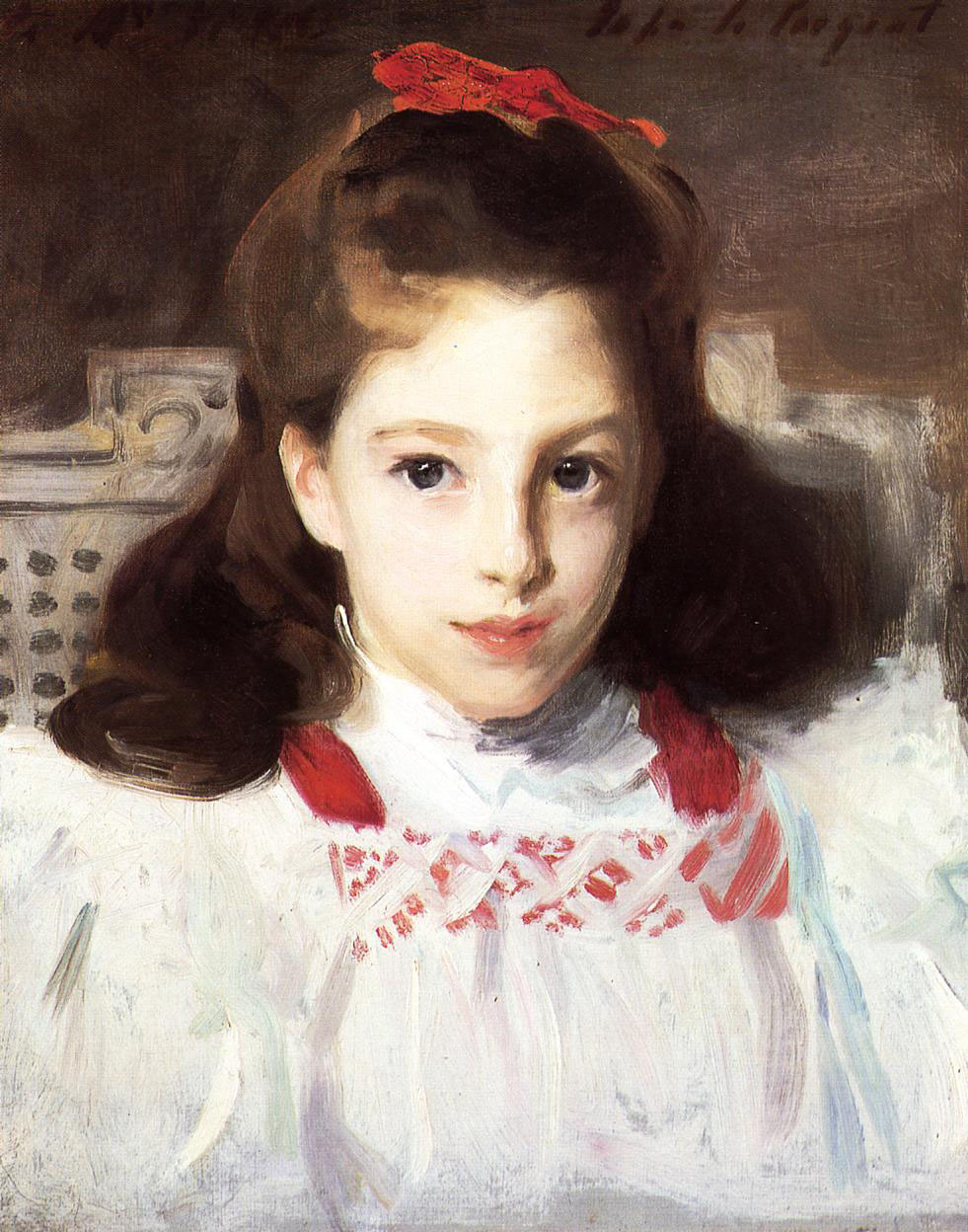 John Singer Sargent. Portrait of miss Dorothy Vickers