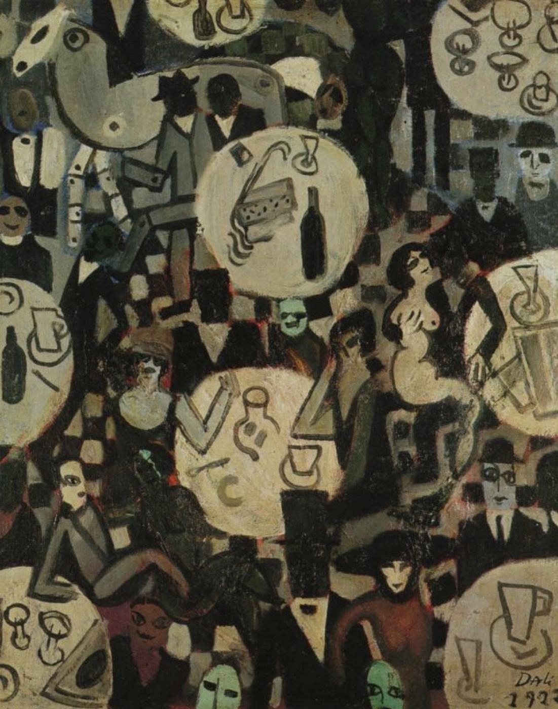 Salvador Dale. Cabaret scene
