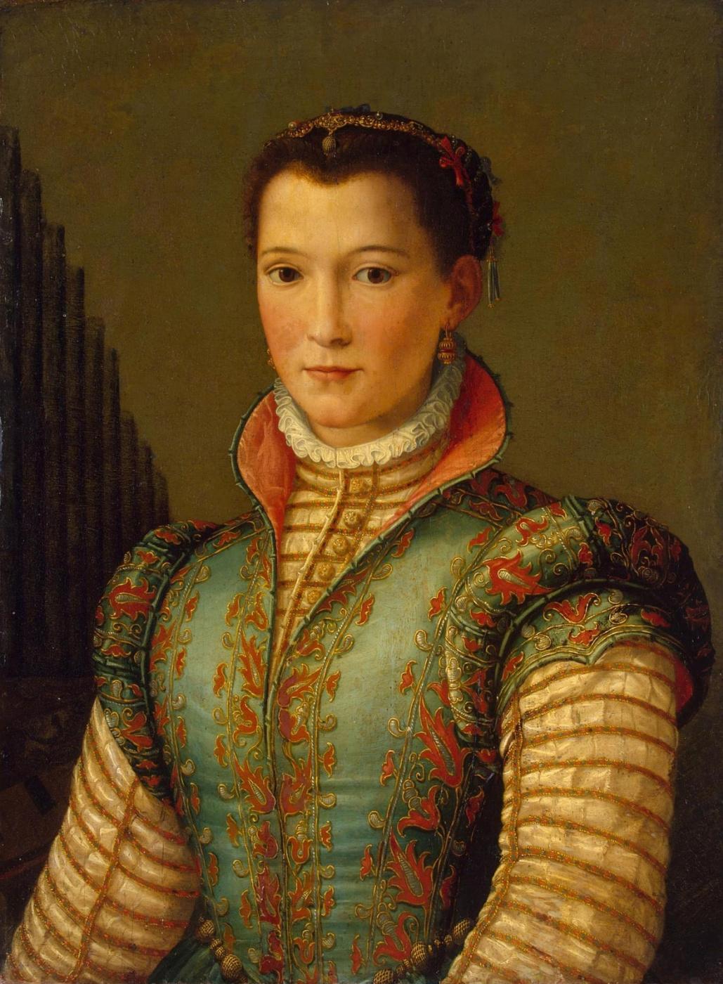 Alessandro Allori. Portrait of a lady. 1560s