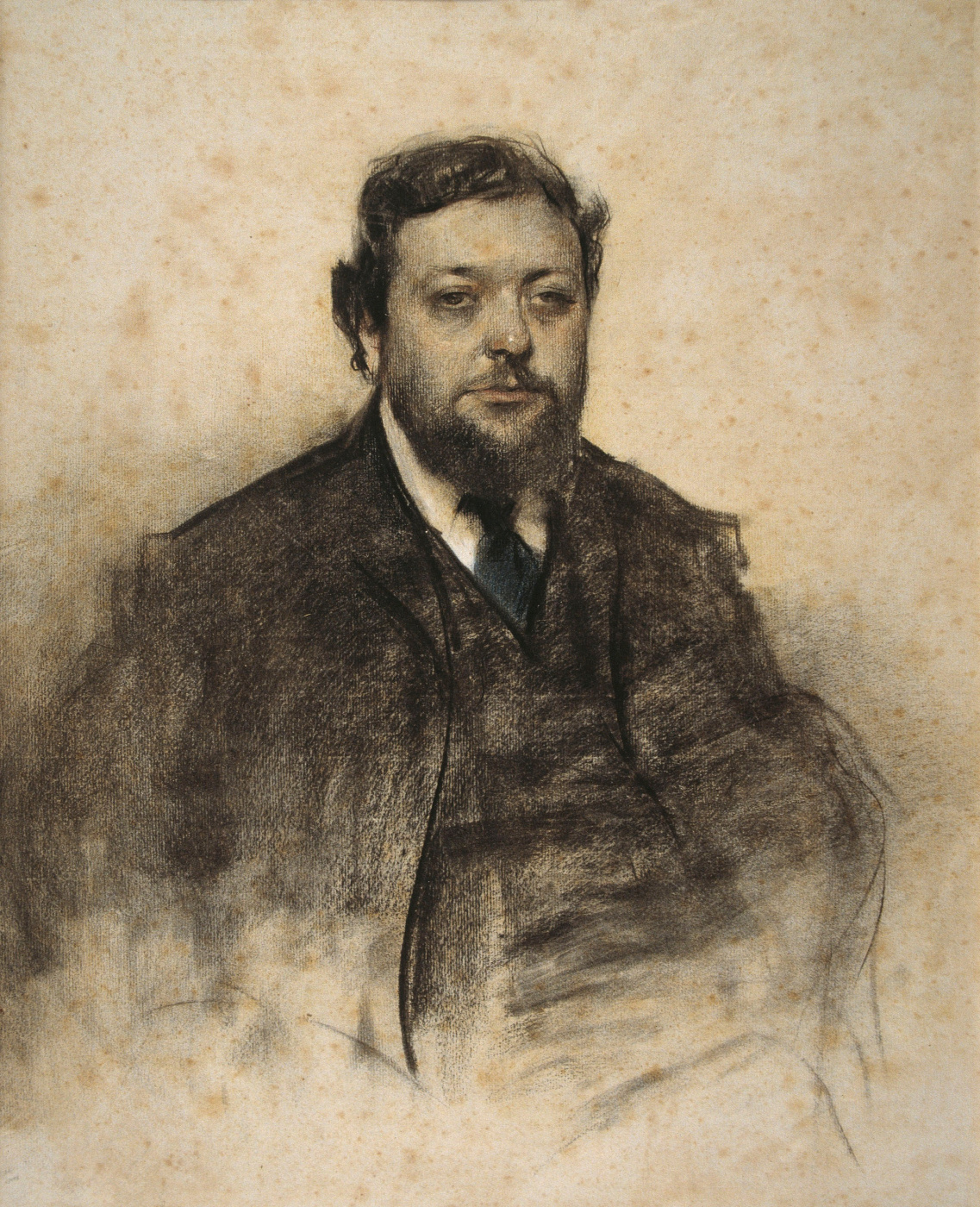 Ramon Casas i Carbó. Portrait of Leon Jassel