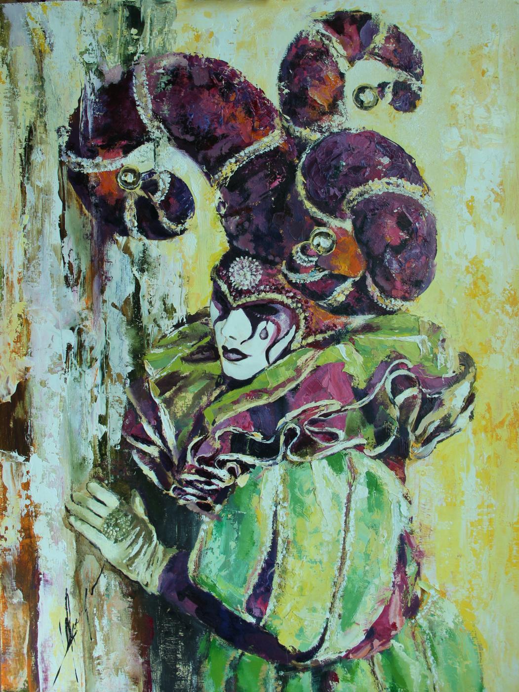 Olga Shatskaya. The Venetian Fool