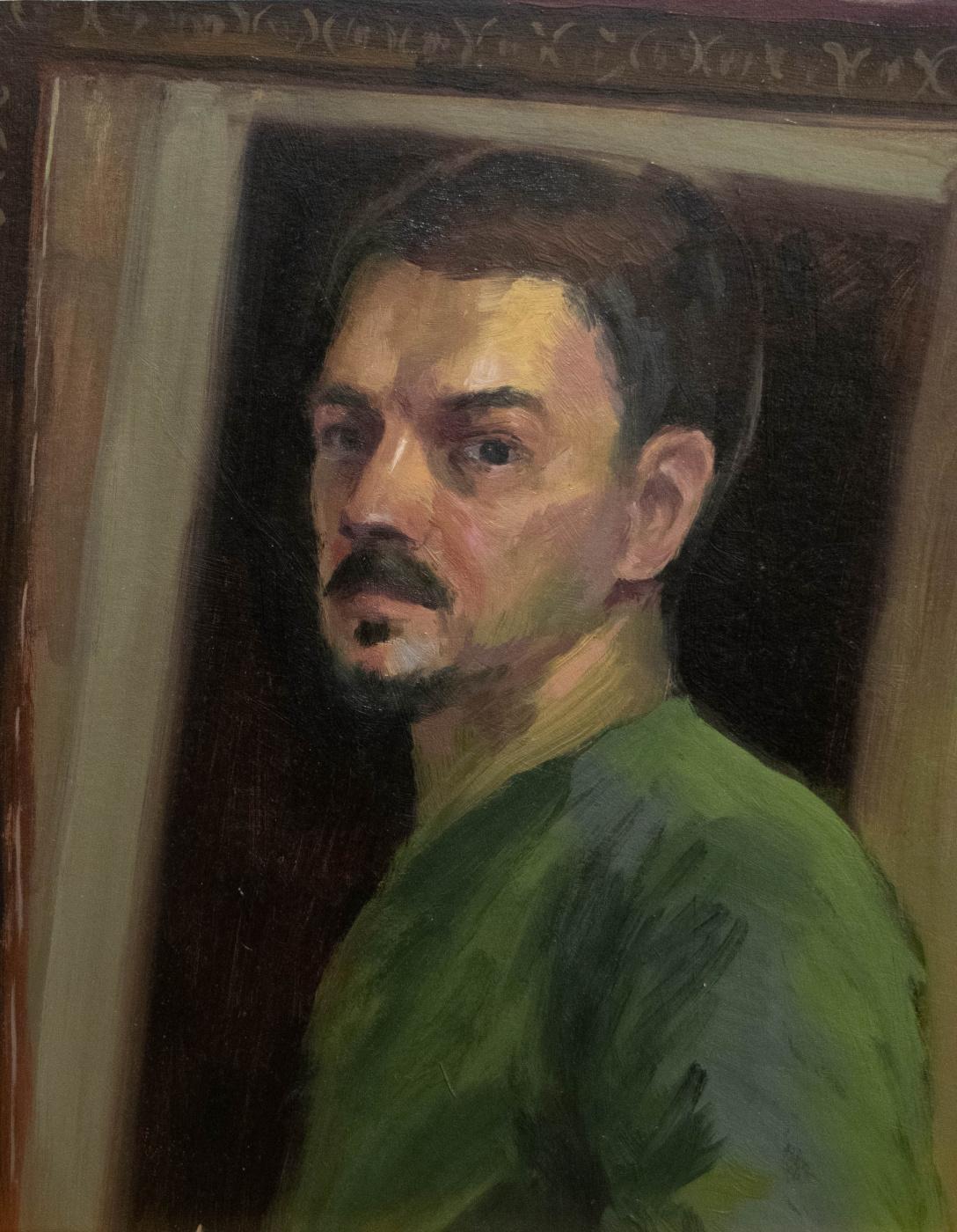 Dmitry Nikolaevich Kuzmich. Self-portrait