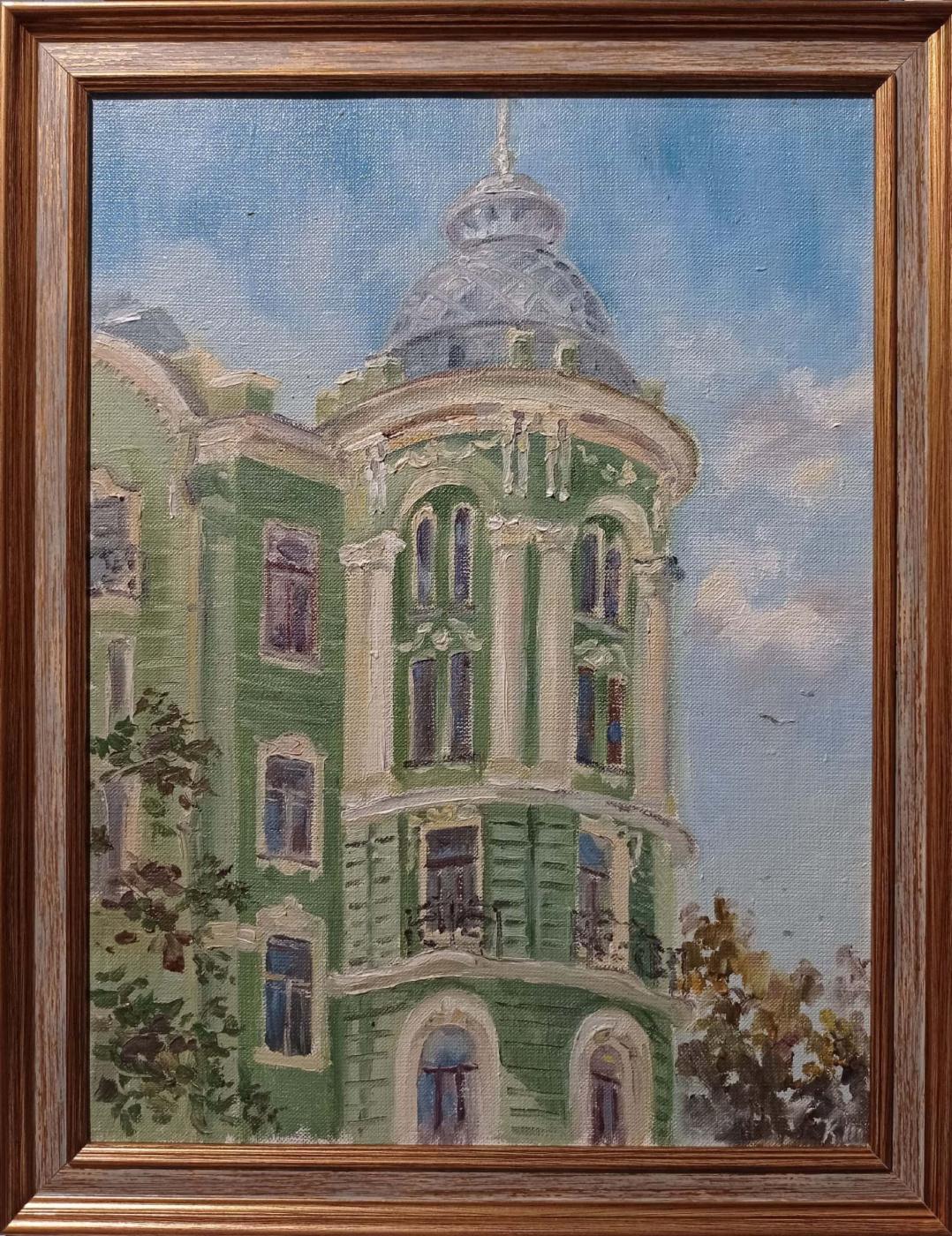 Christina Shchekina. House of Kolobovs, Petrogradskaya
