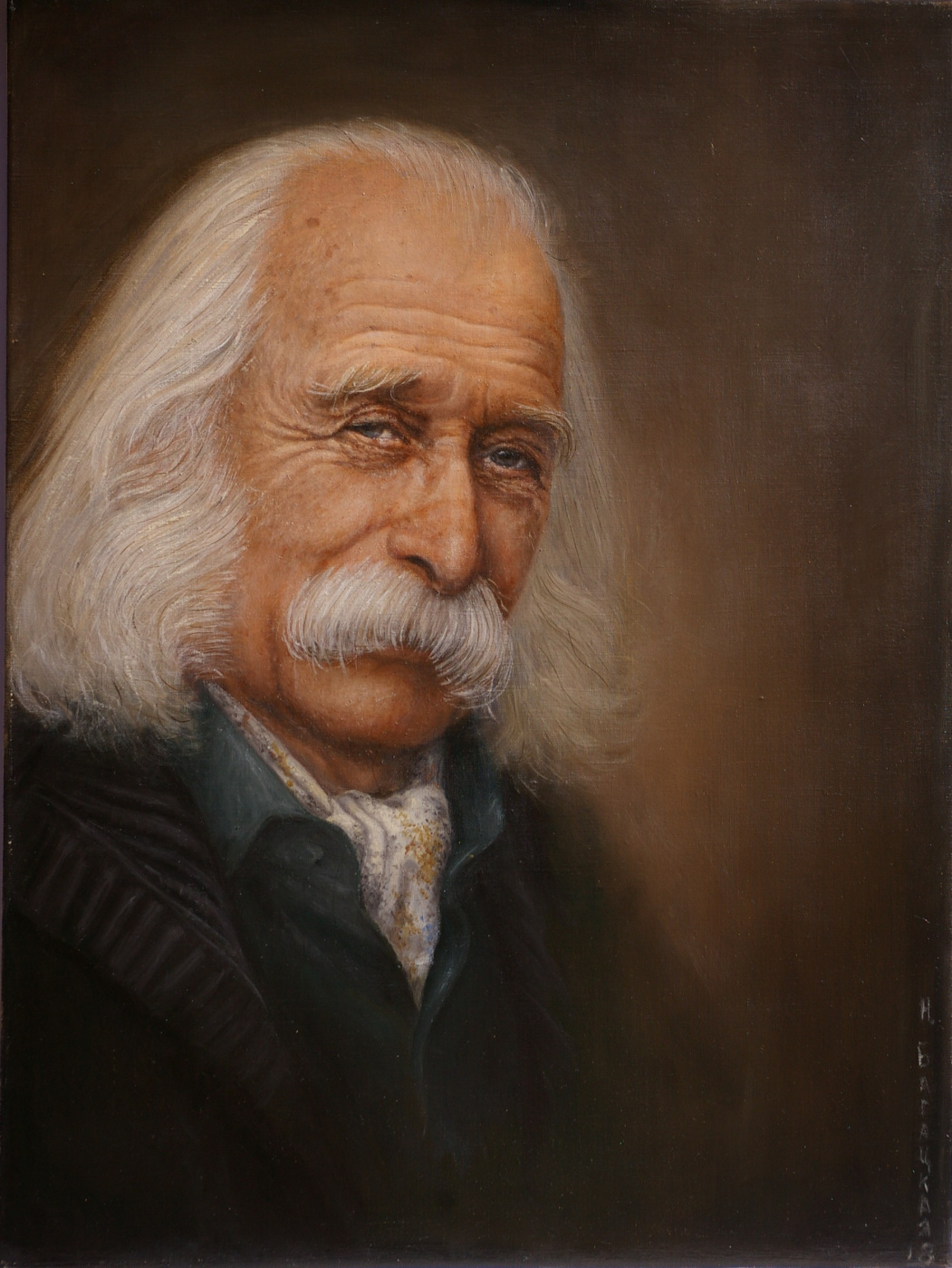 Natalia Bagatskaya. Artist Ivan Marchuk