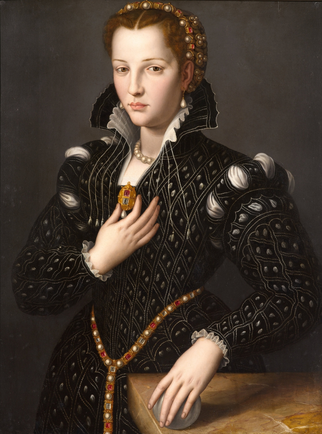 Alessandro Allori. Lucretia de Medici. 1560 (1545-1561)
