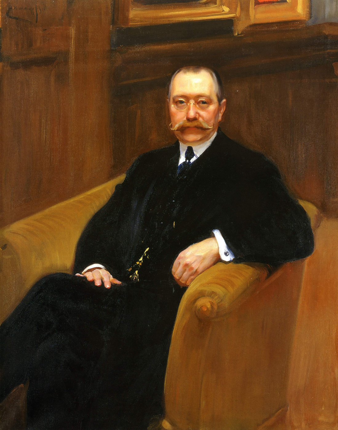 Alexander Murashko. Portrait Of G. P. Schleifer