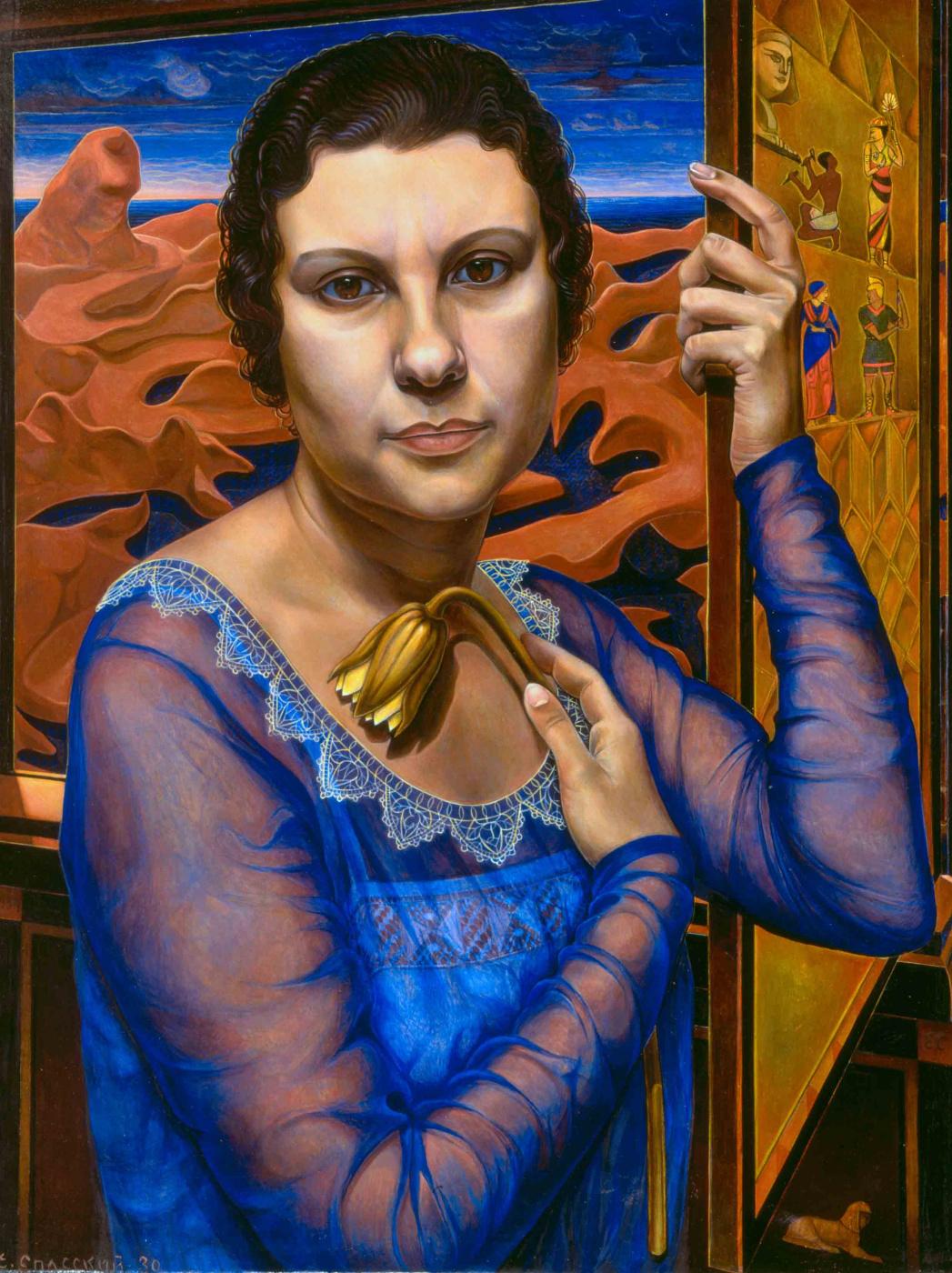 Eugene Spassky. Portrait of Cornelia