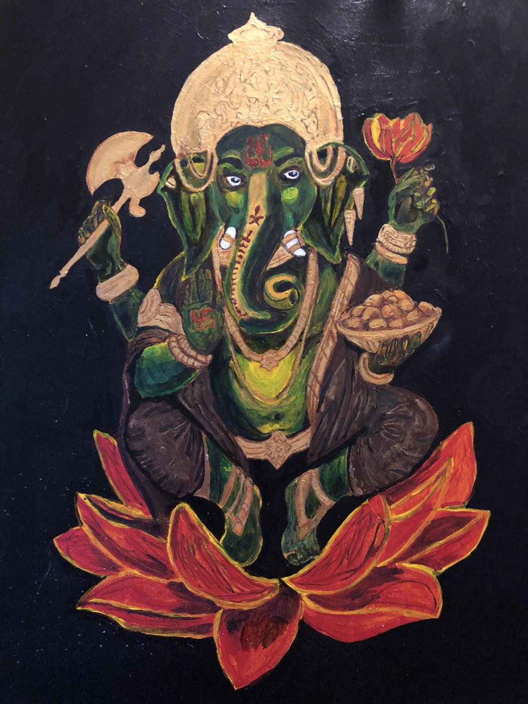 Phaque u parce que. Ganesha