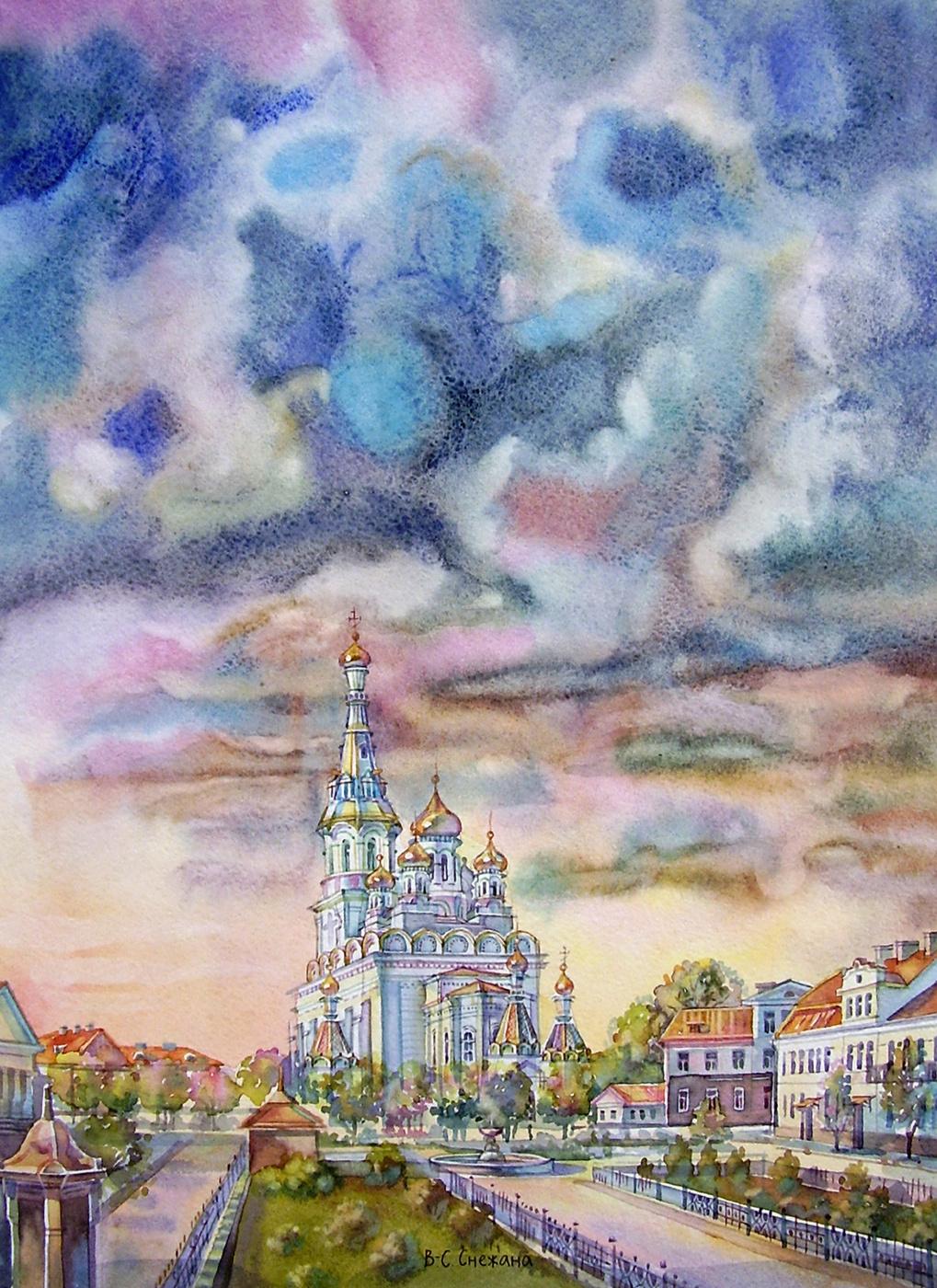 Снежана Казимировна Витецкая Viteckaja. St. Sophia Cathedral