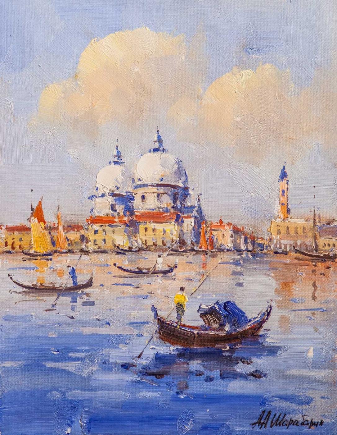 Andrey Sharabarin. Dreams of Venice N1