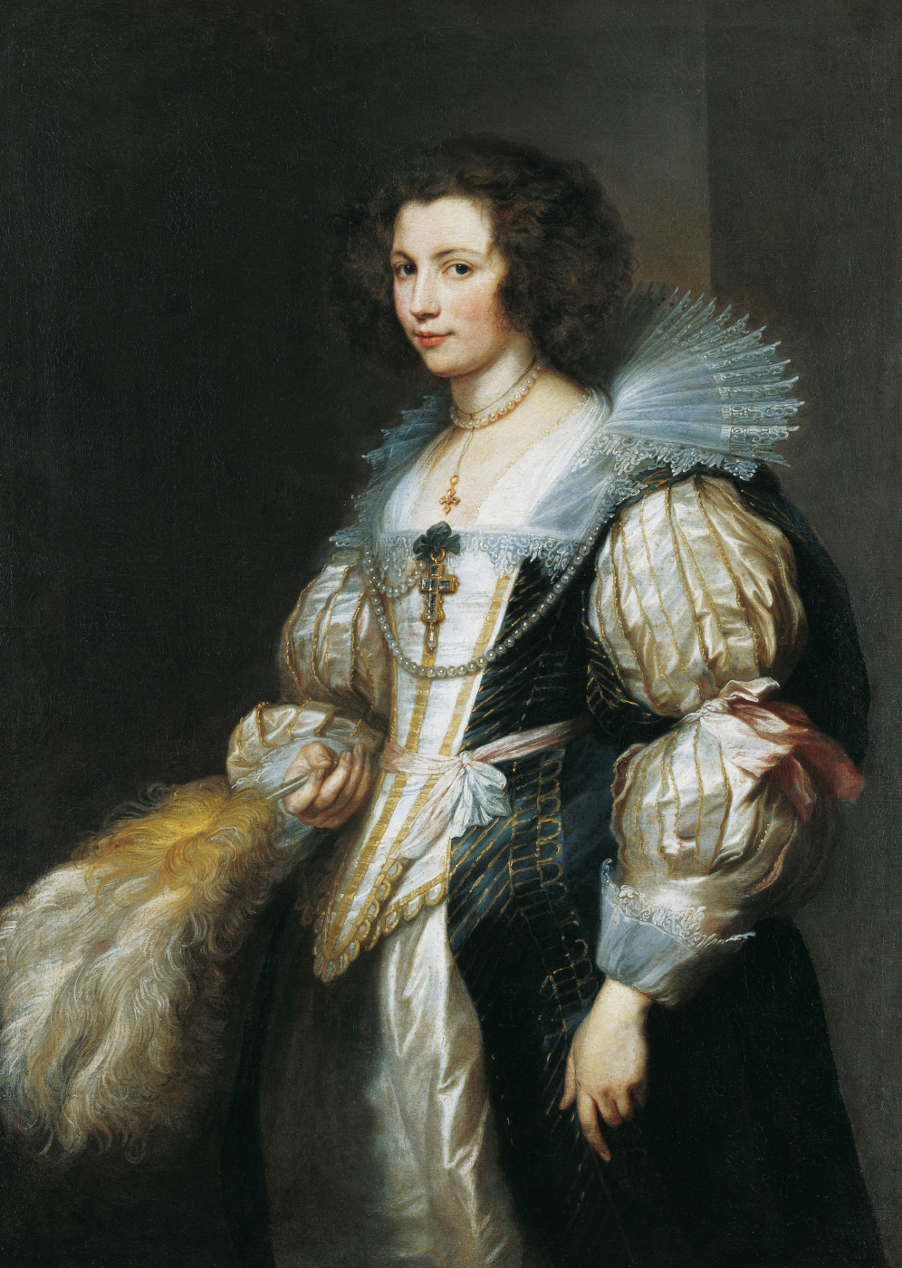 Anthony van Dyck. Portrait of Maria Louisa de tassis
