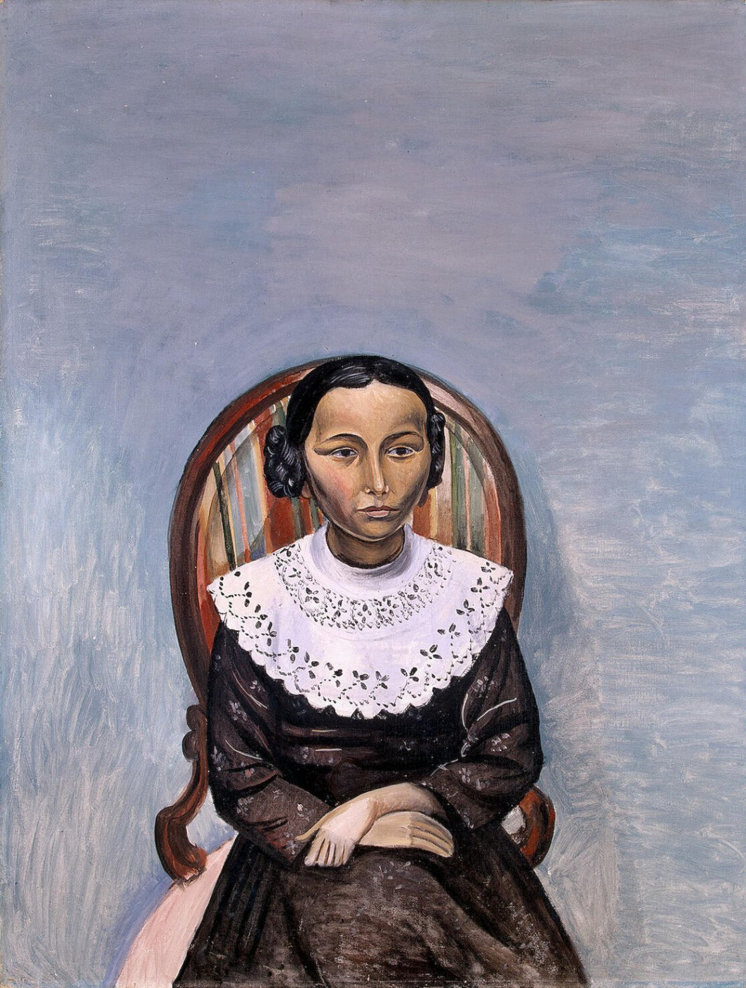 Andre Derain. Portrait of a girl in black