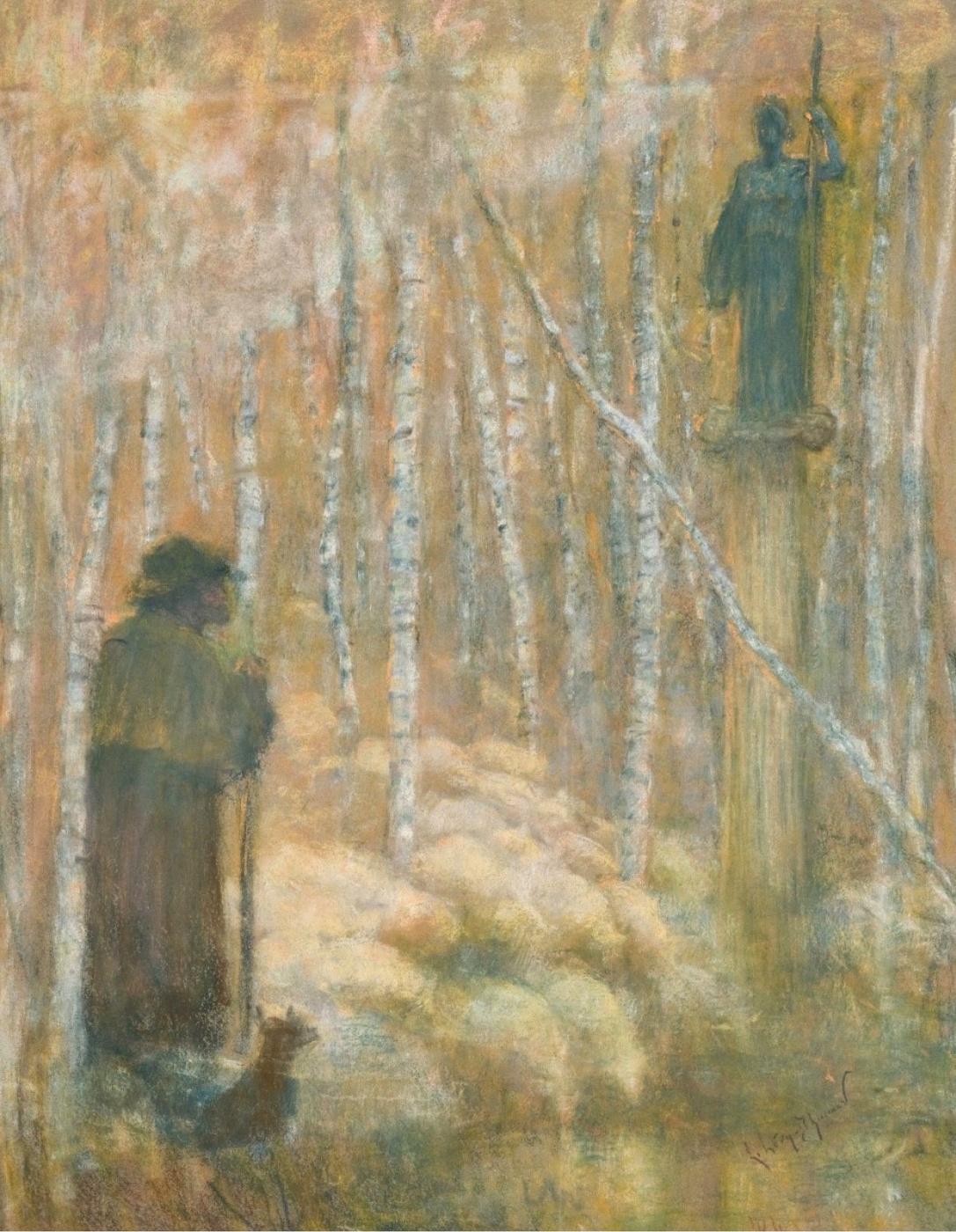Lucien Levi-Durme. Greek shepherd.