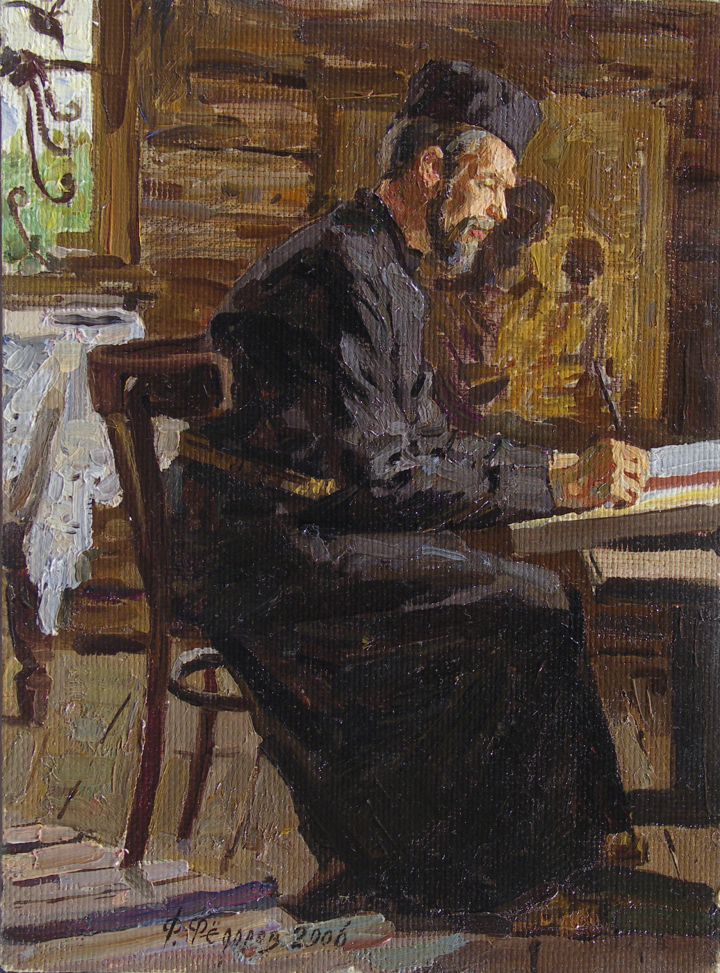 Фёдор Борисович Фёдоров. Icon painter