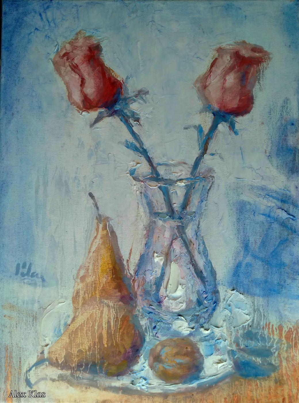 Alex Klas. Pink Roses