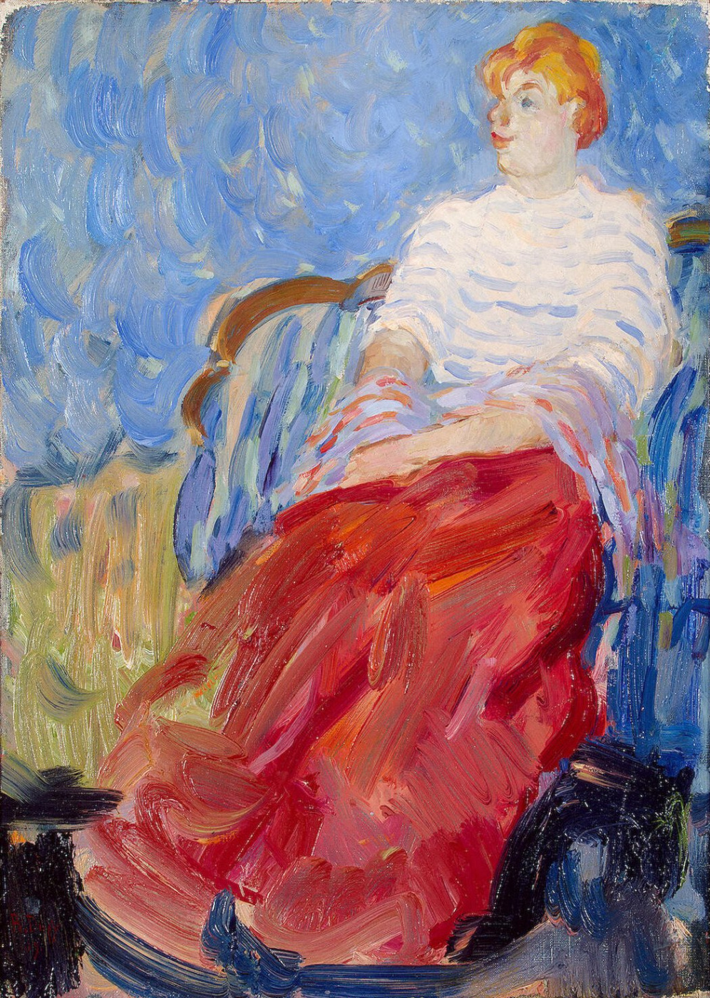 Raoul Dufy. Portrait of Susanne Dufy, sister of the artist