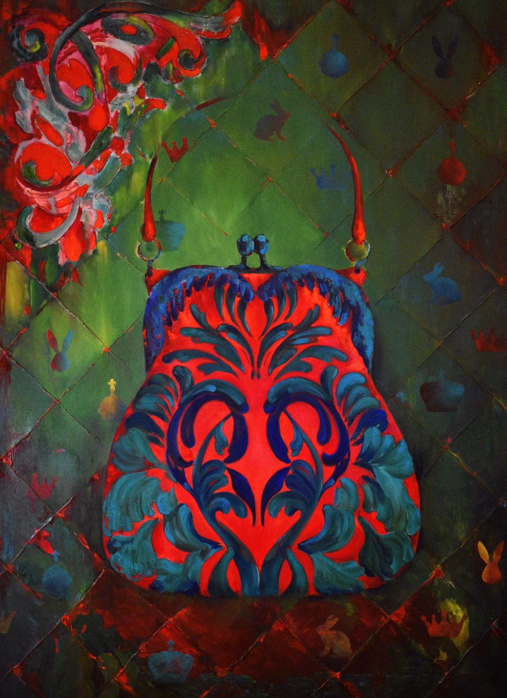Marina Venediktova. GLAMOUR AA 110*80 cm, original oil painting