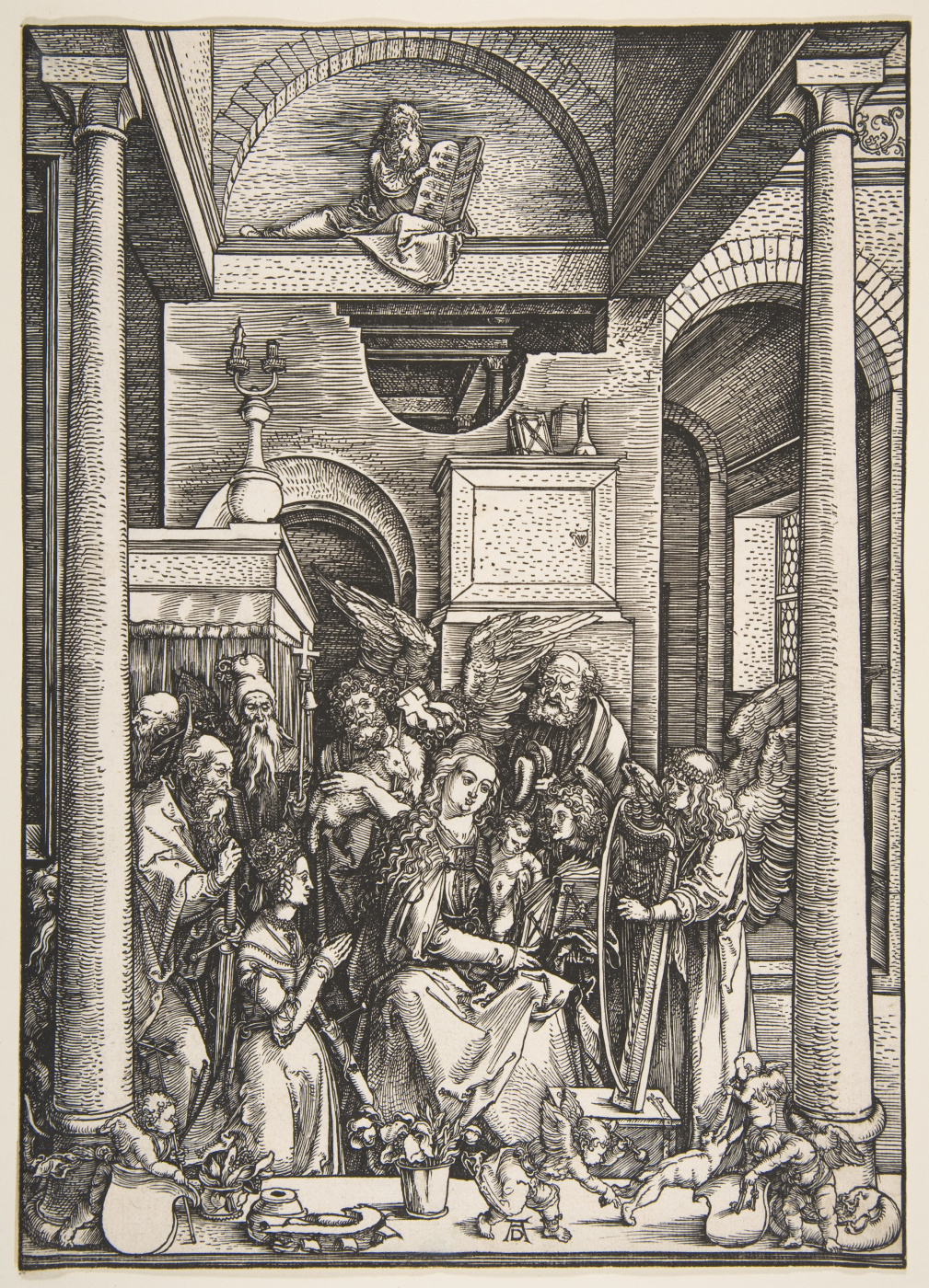 Albrecht Durer. The Glorification Of The Virgin Mary