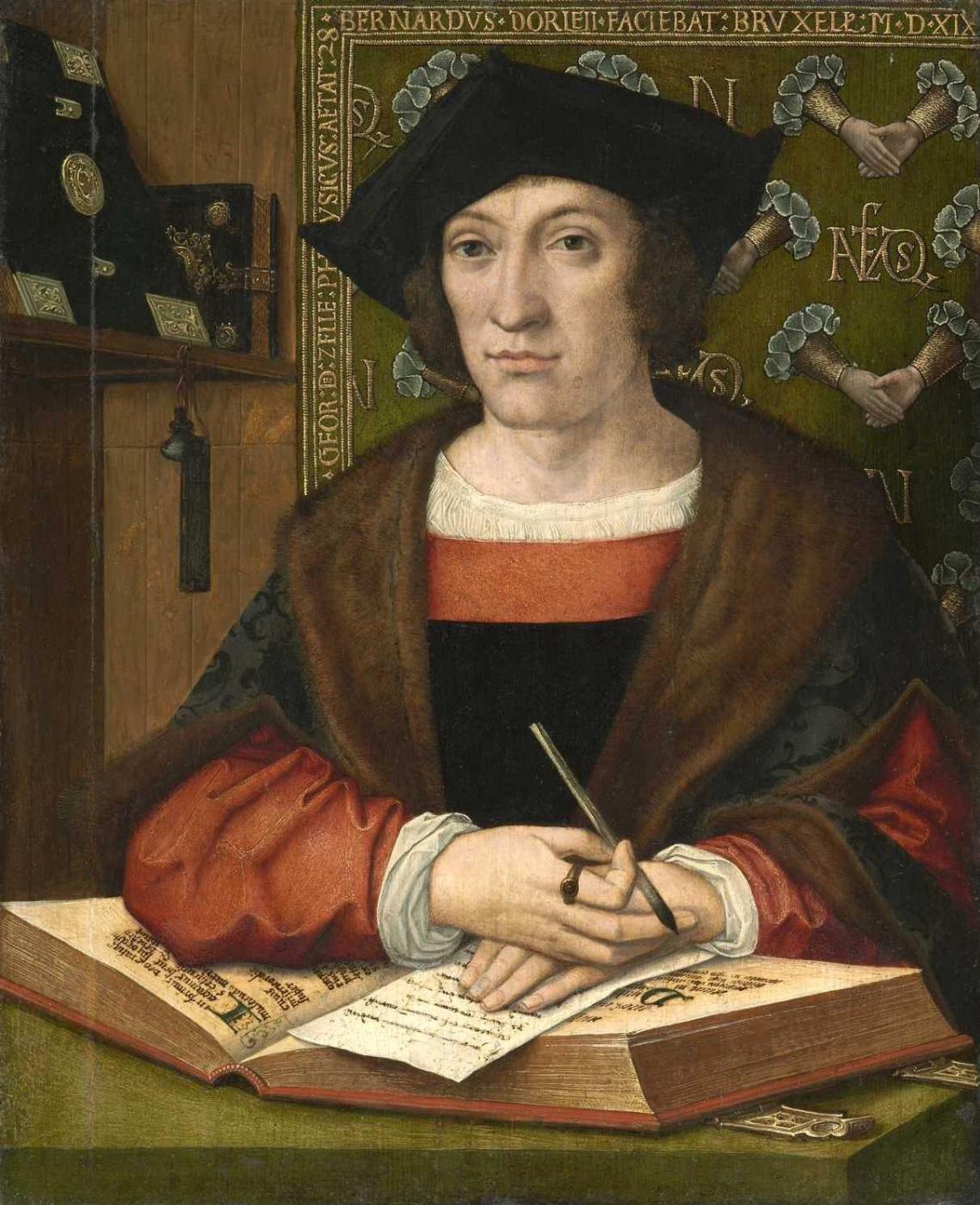 Portrait of Joris van Celle