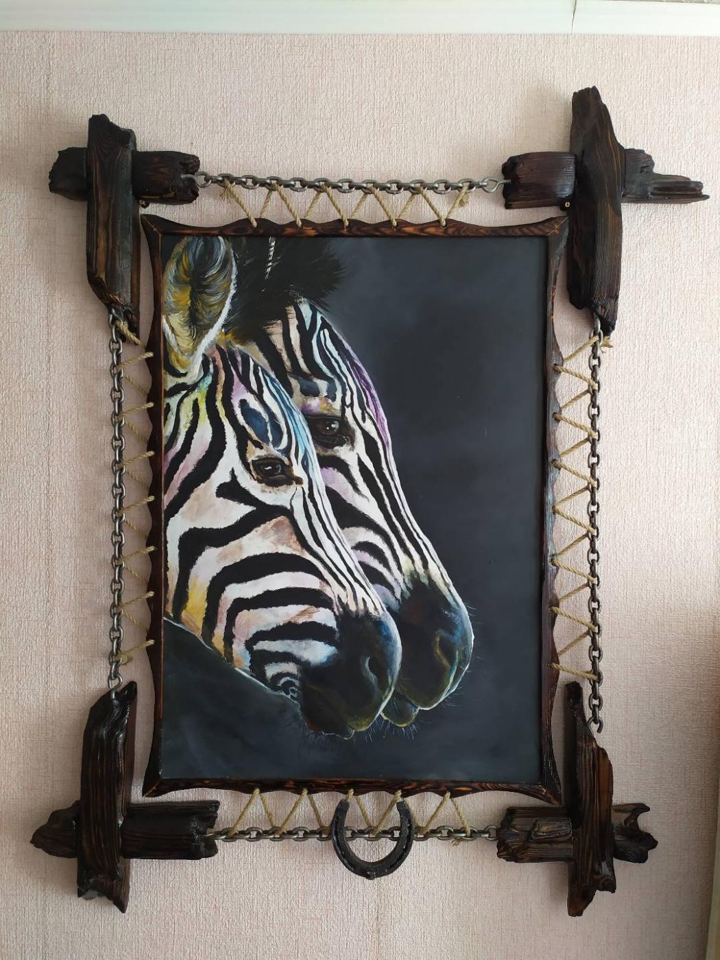 Julia Safronova. Zebras