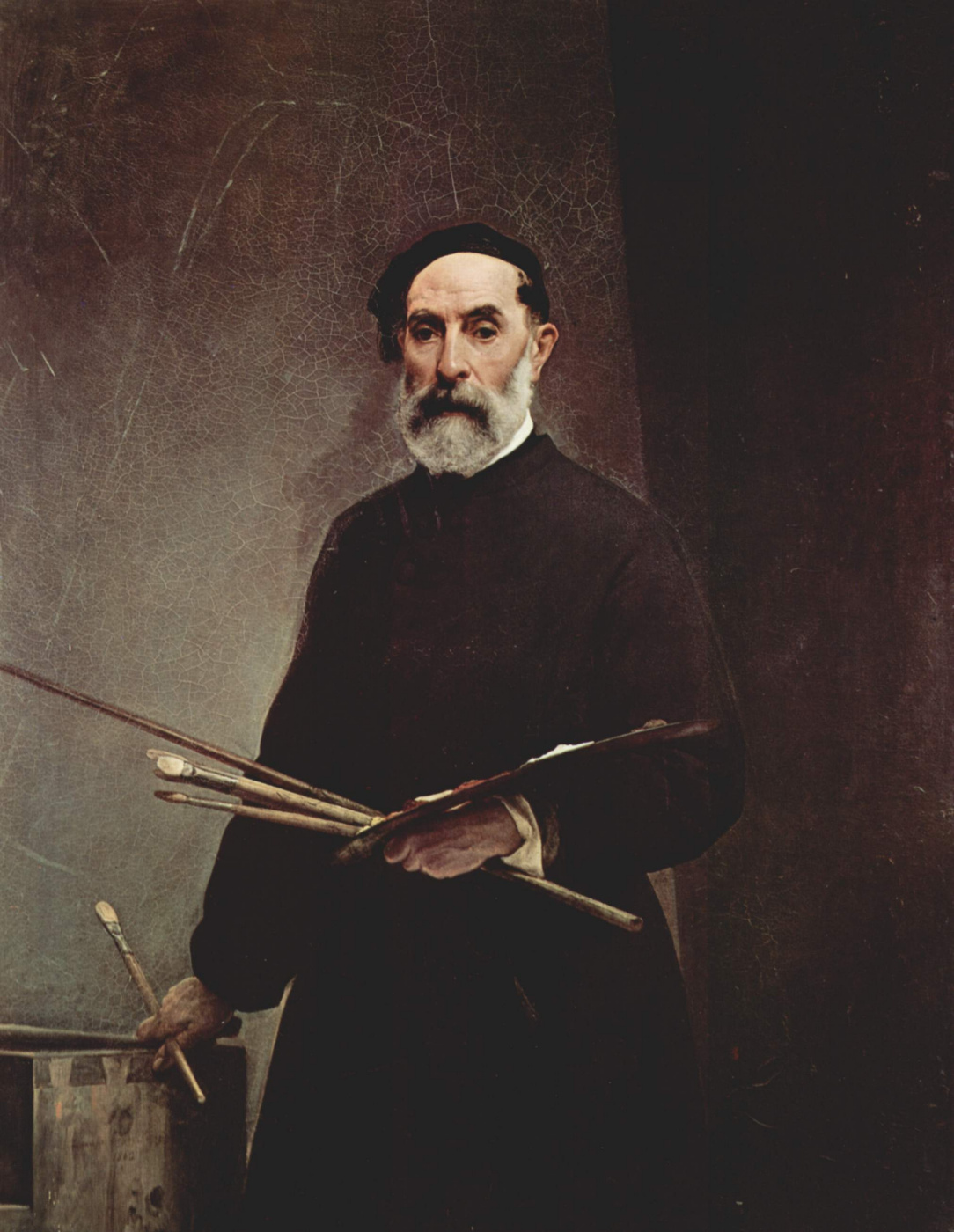 Francesco Ayets. Self-portrait at 69 years old