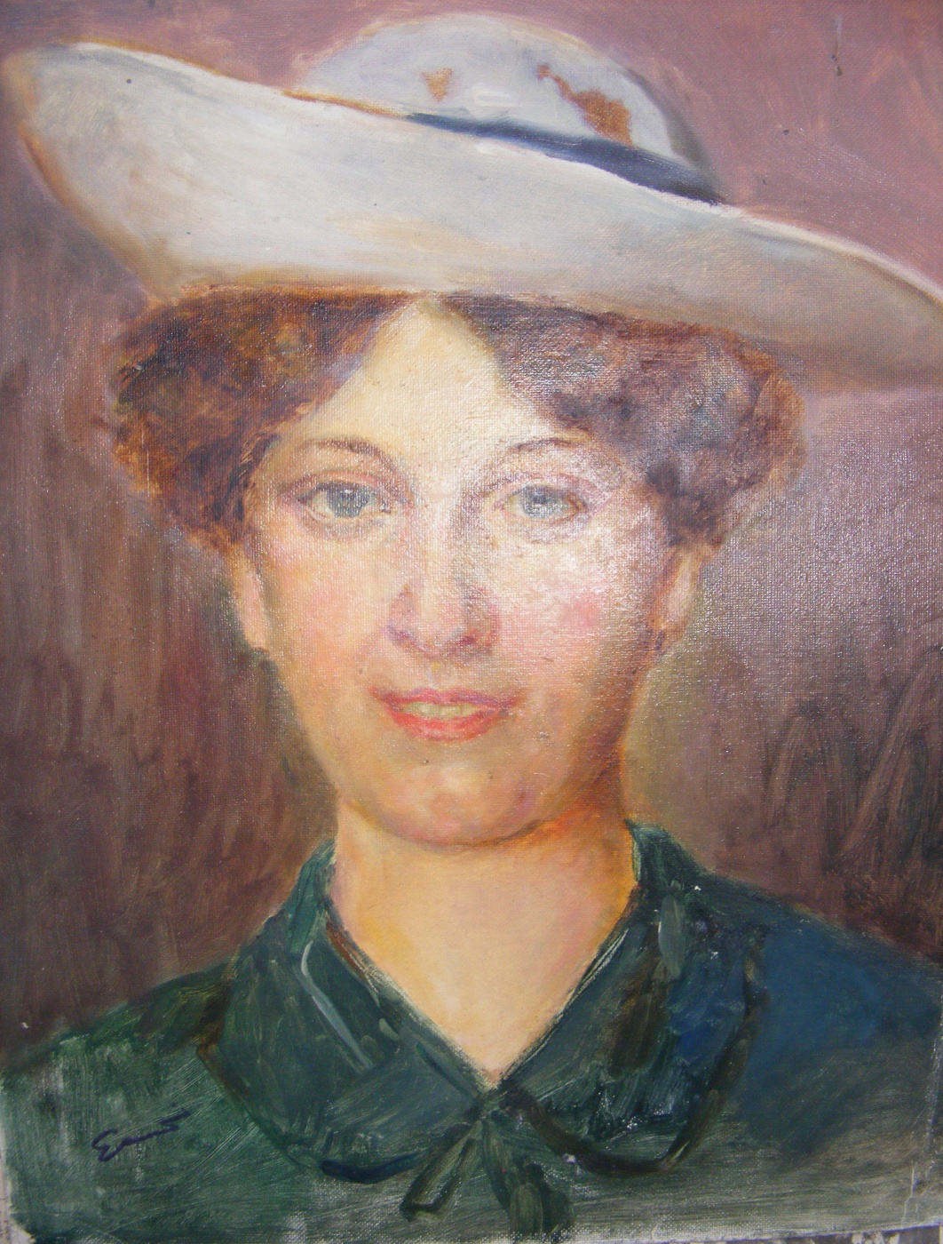 Yosif Josifovich Garani. Portrait of a girl
