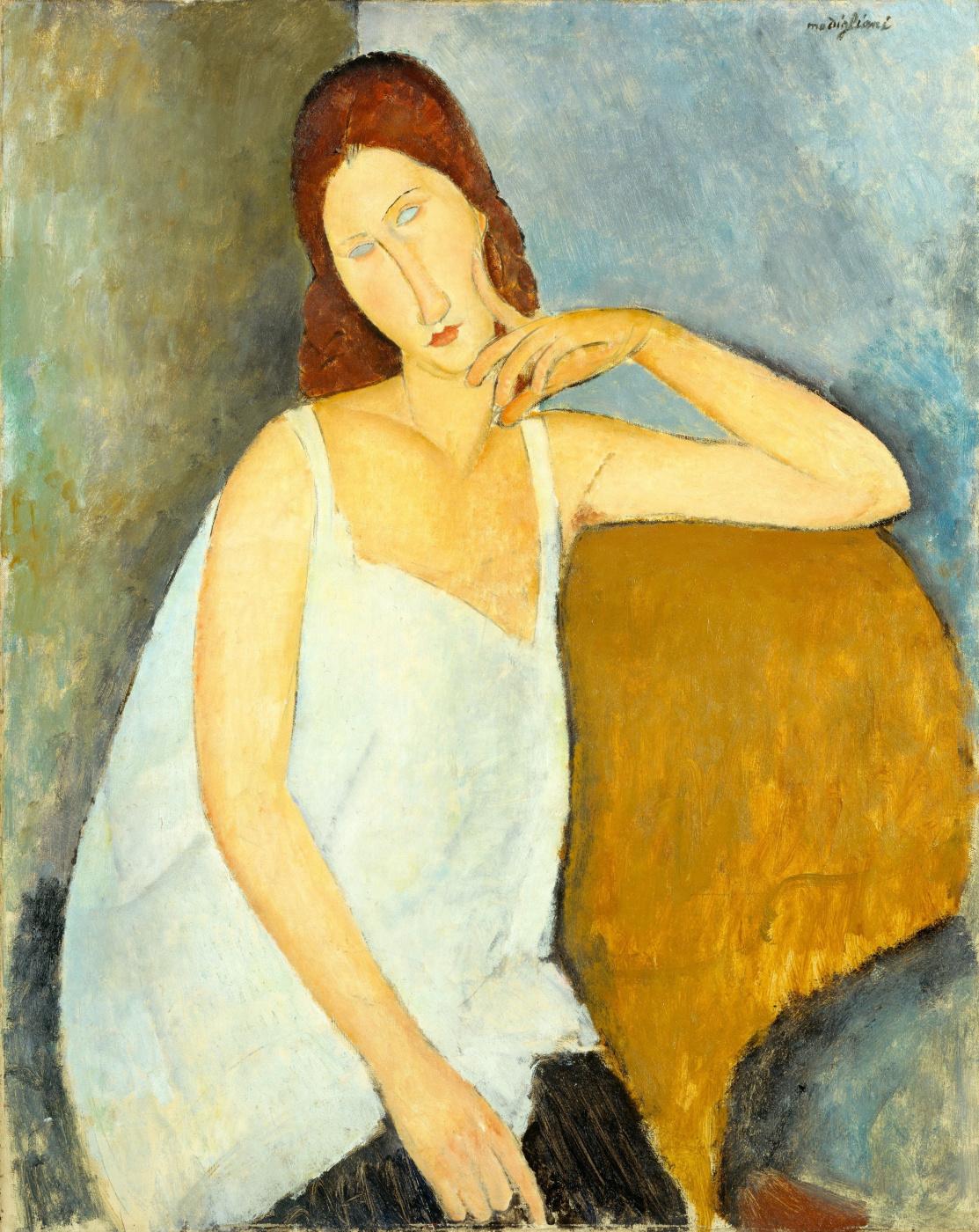 Amedeo Modigliani. Portrait Of Jeanne Hebuterne