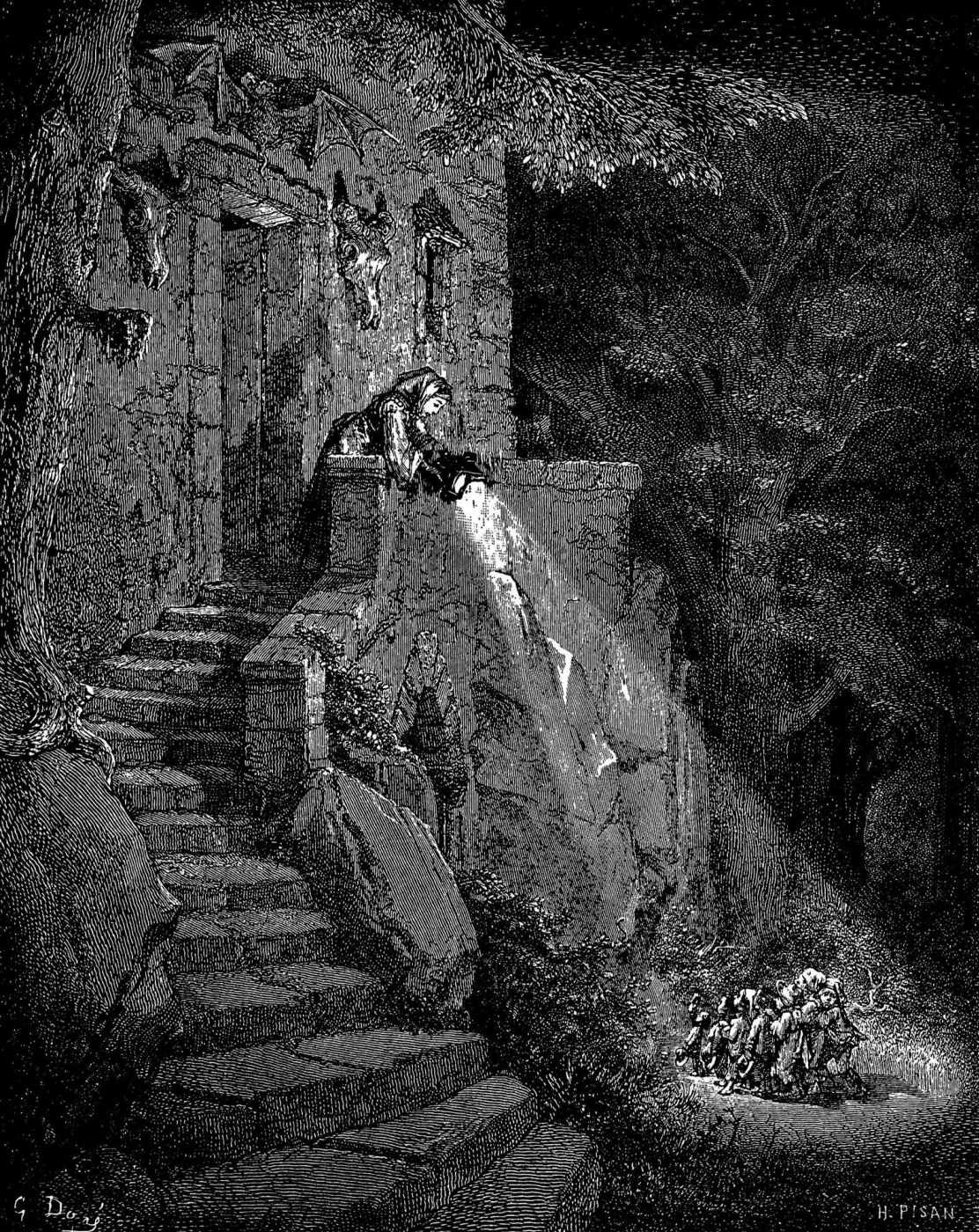 Paul Gustave Dore. Illustration for Perro's Fairy Tales
