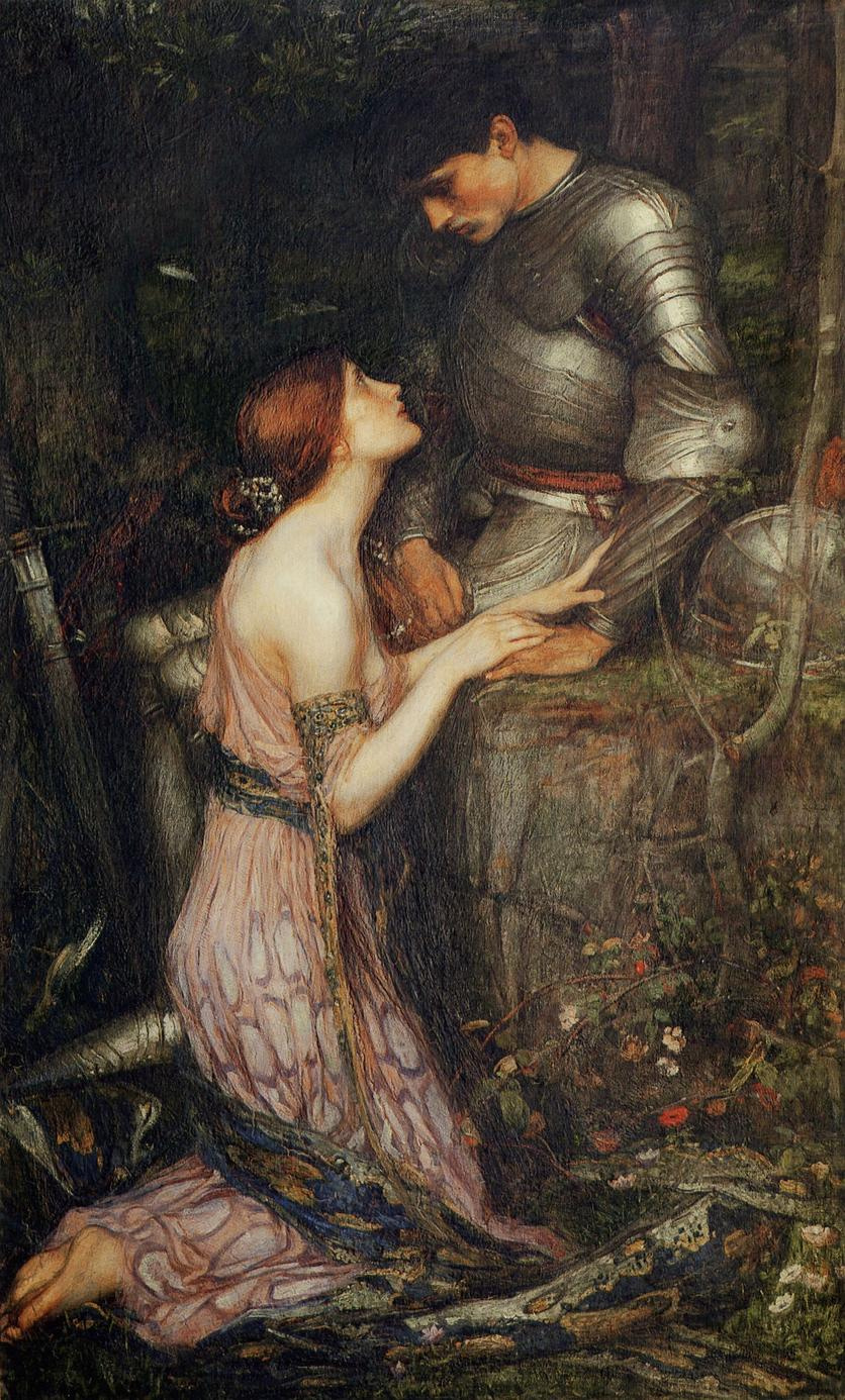 John William Waterhouse. Lamia