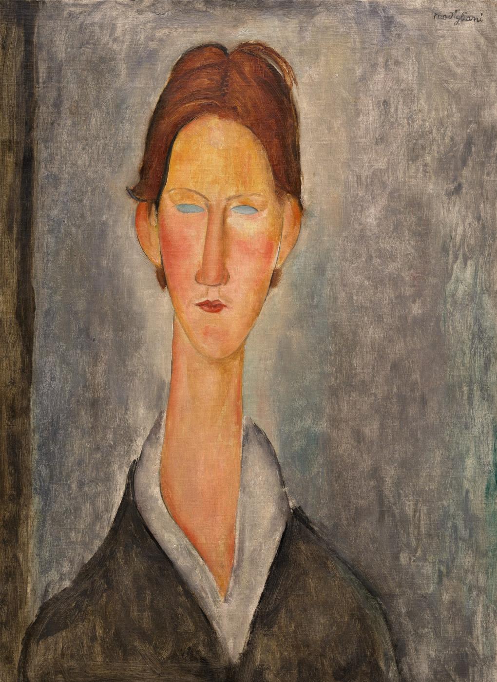 Amedeo Modigliani. Portrait of a student