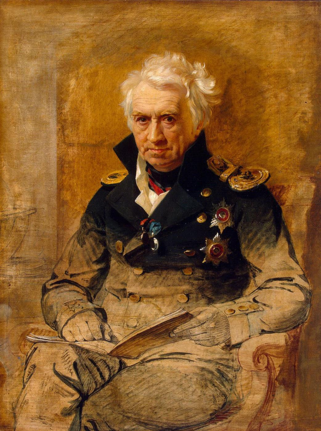 George Dow. Portrait of Alexander Semenovich Shishkov