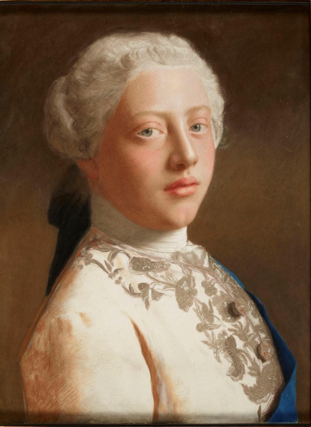 Jean-Etienne Liotard. Portrait of George, Prince of Wales (later George III)