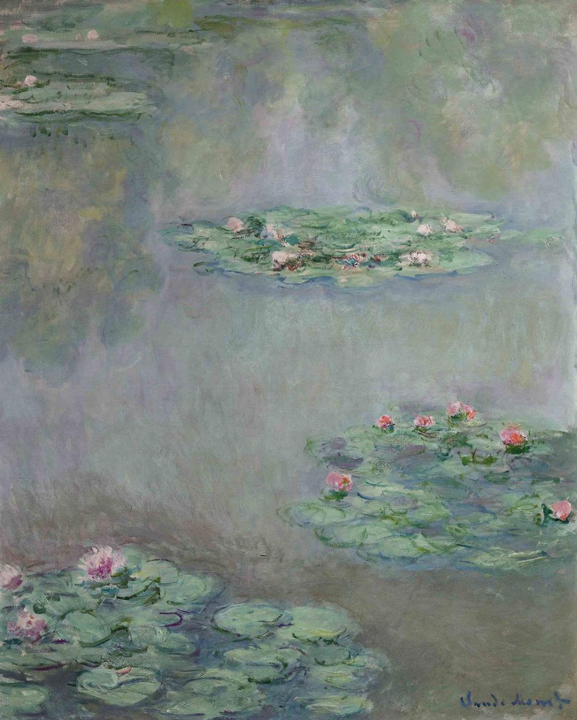 Claude Monet. Water Lilies
