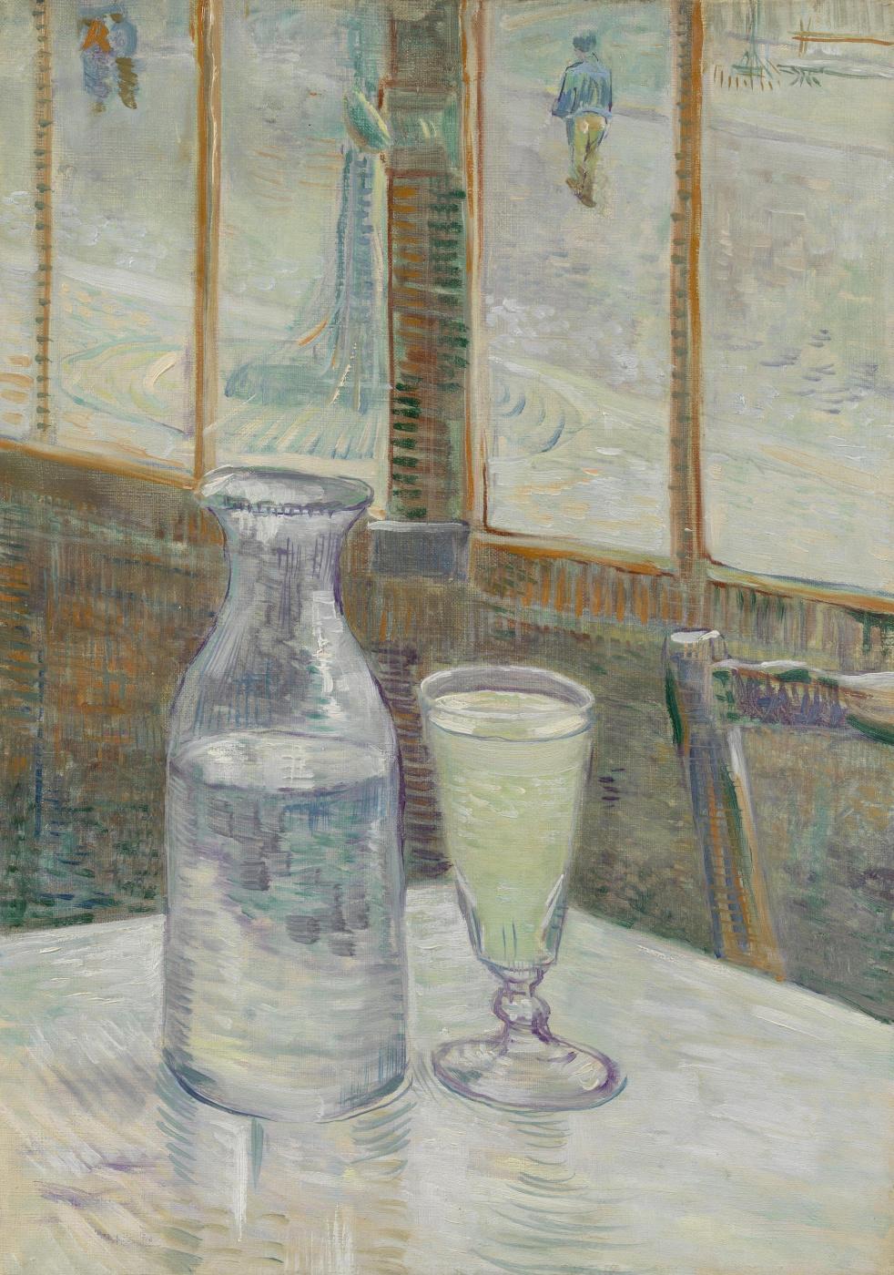 Vincent van Gogh. Still life with absinthe